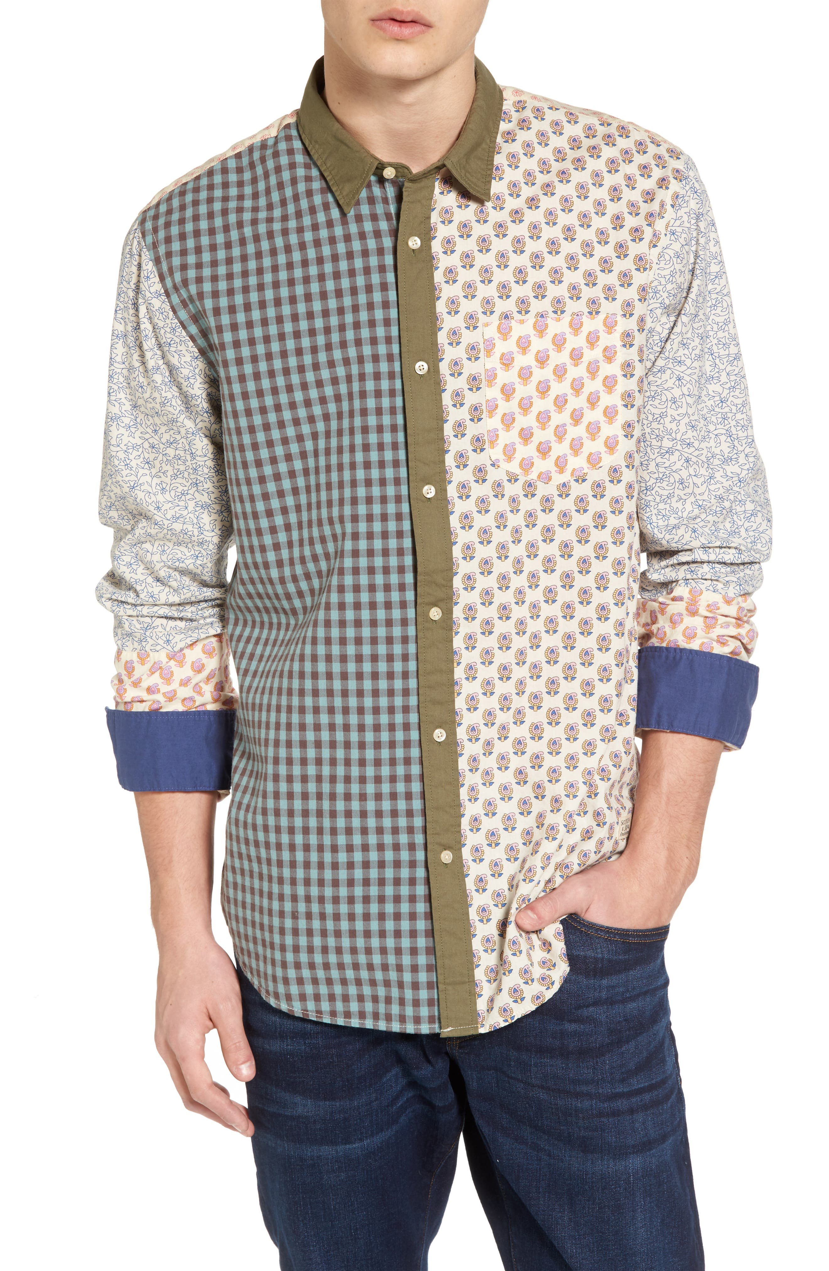 Mix & Match Sport Shirt,                         Main,                         color, Combo A