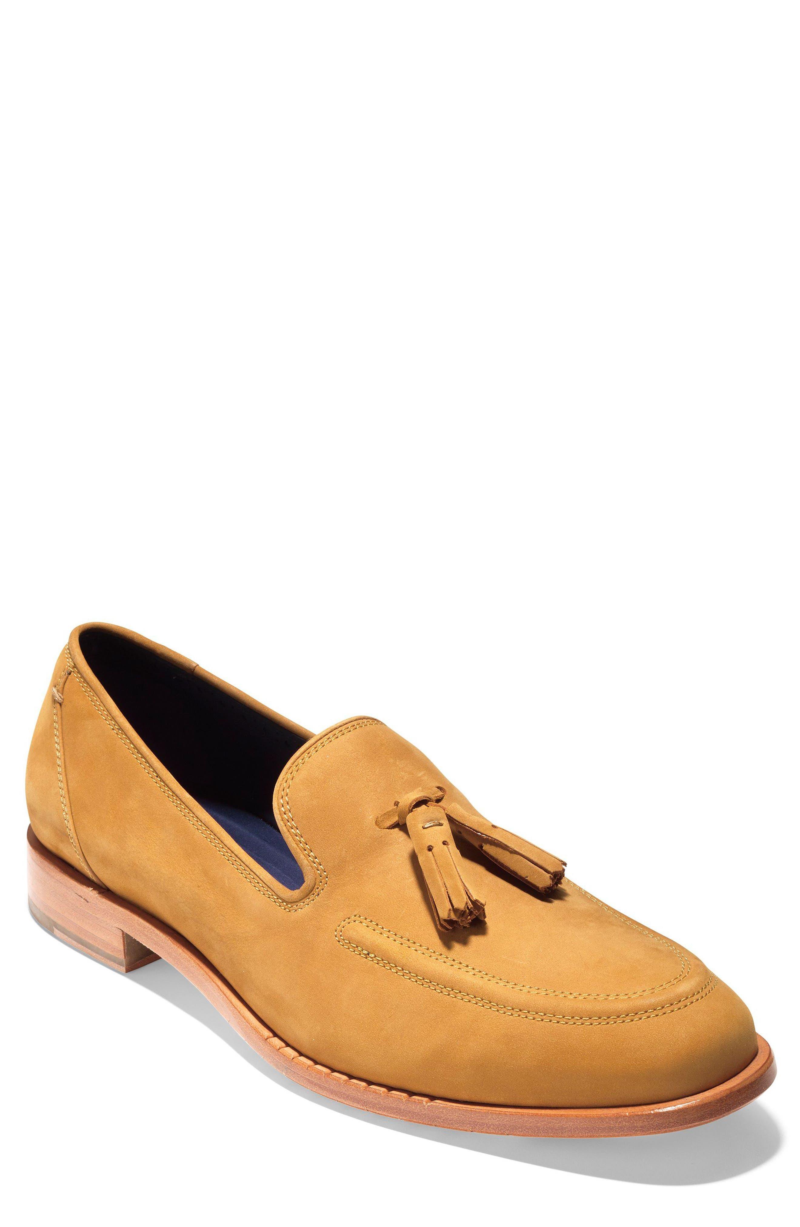 Washington Grand Tassel Loafer,                         Main,                         color, Cathay Spice Nubuck