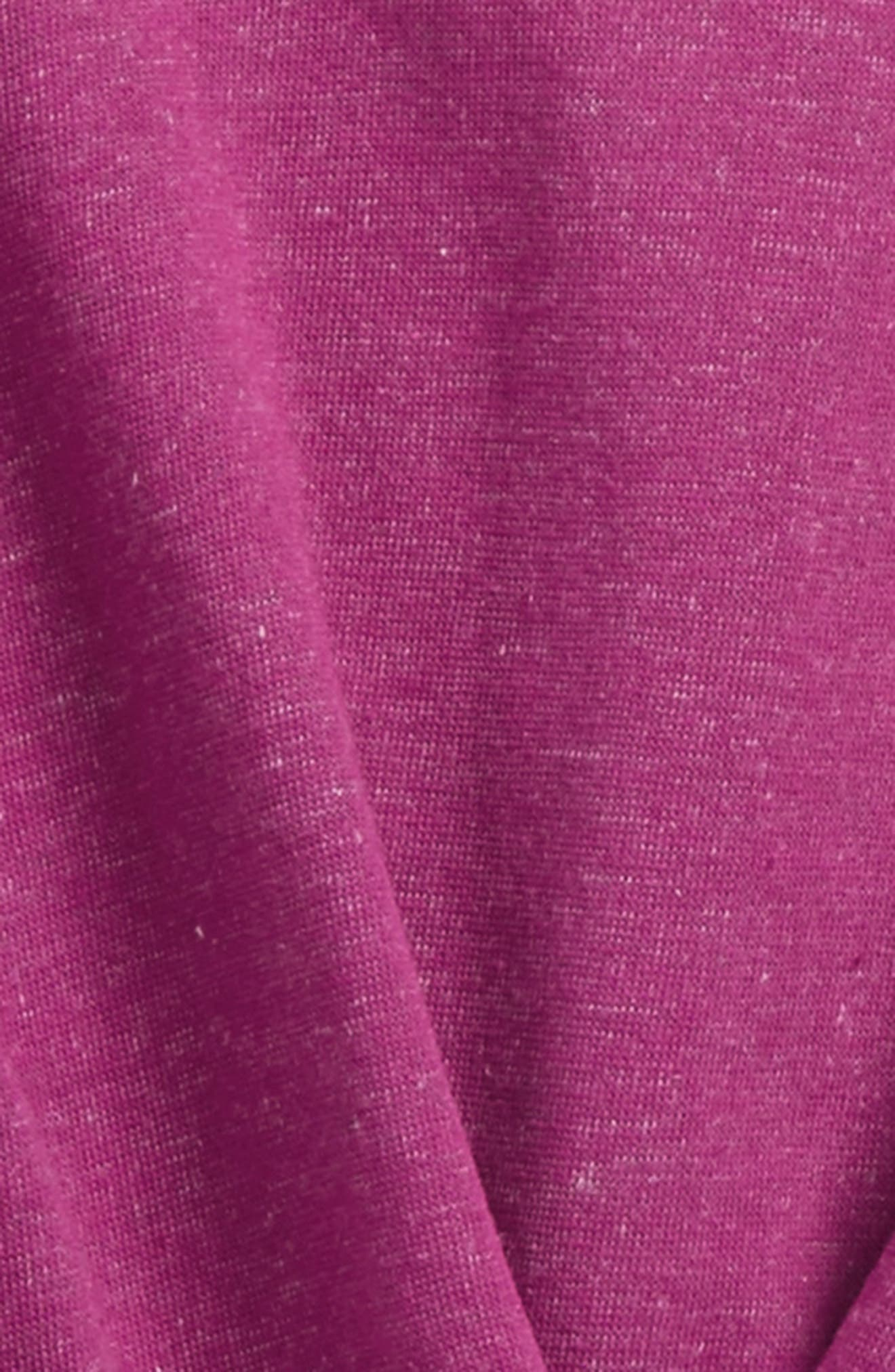 Pleated Sweatshirt,                             Alternate thumbnail 2, color,                             Berry