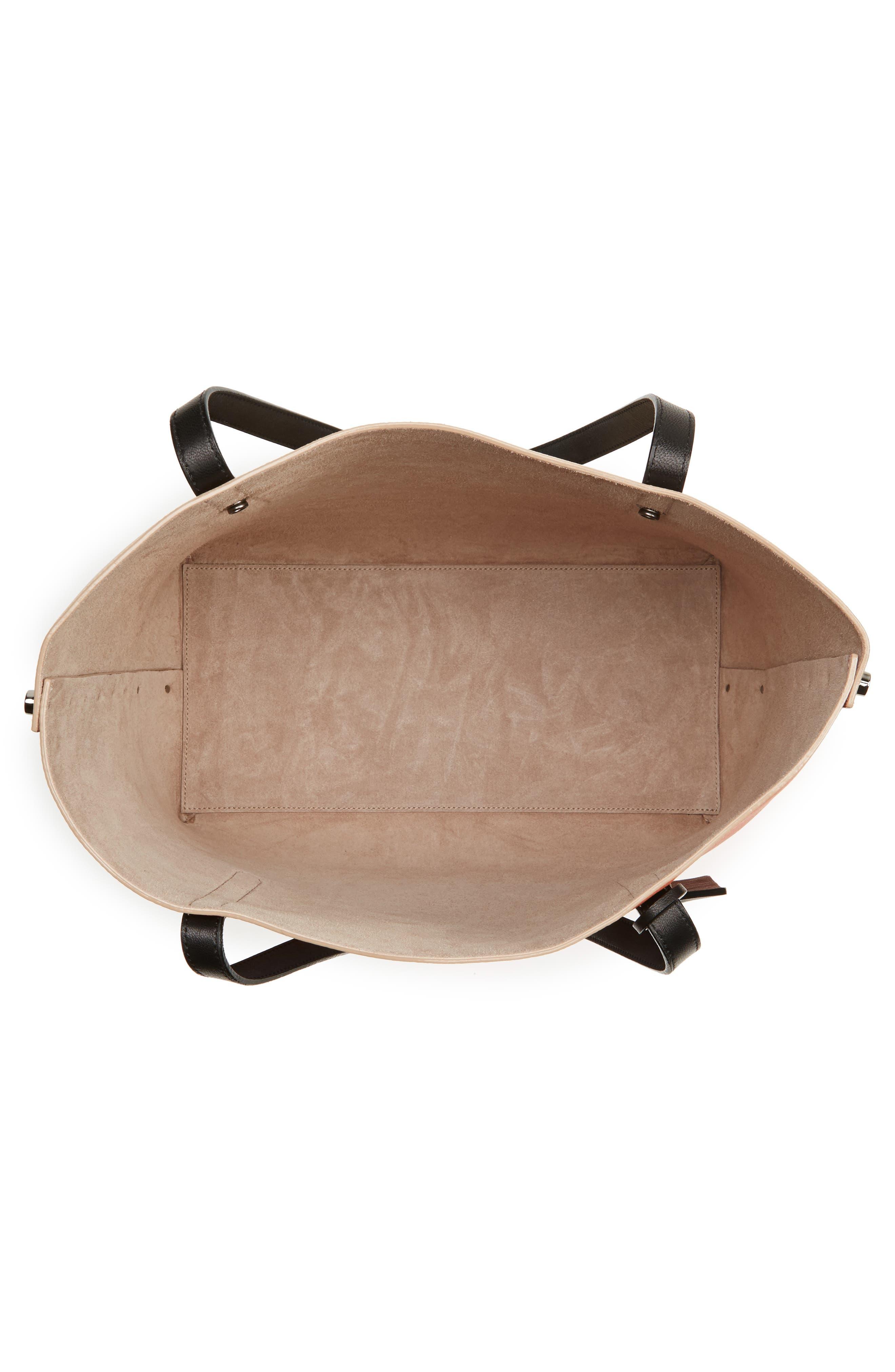 Alternate Image 4  - Jimmy Choo Twist Leather Tote