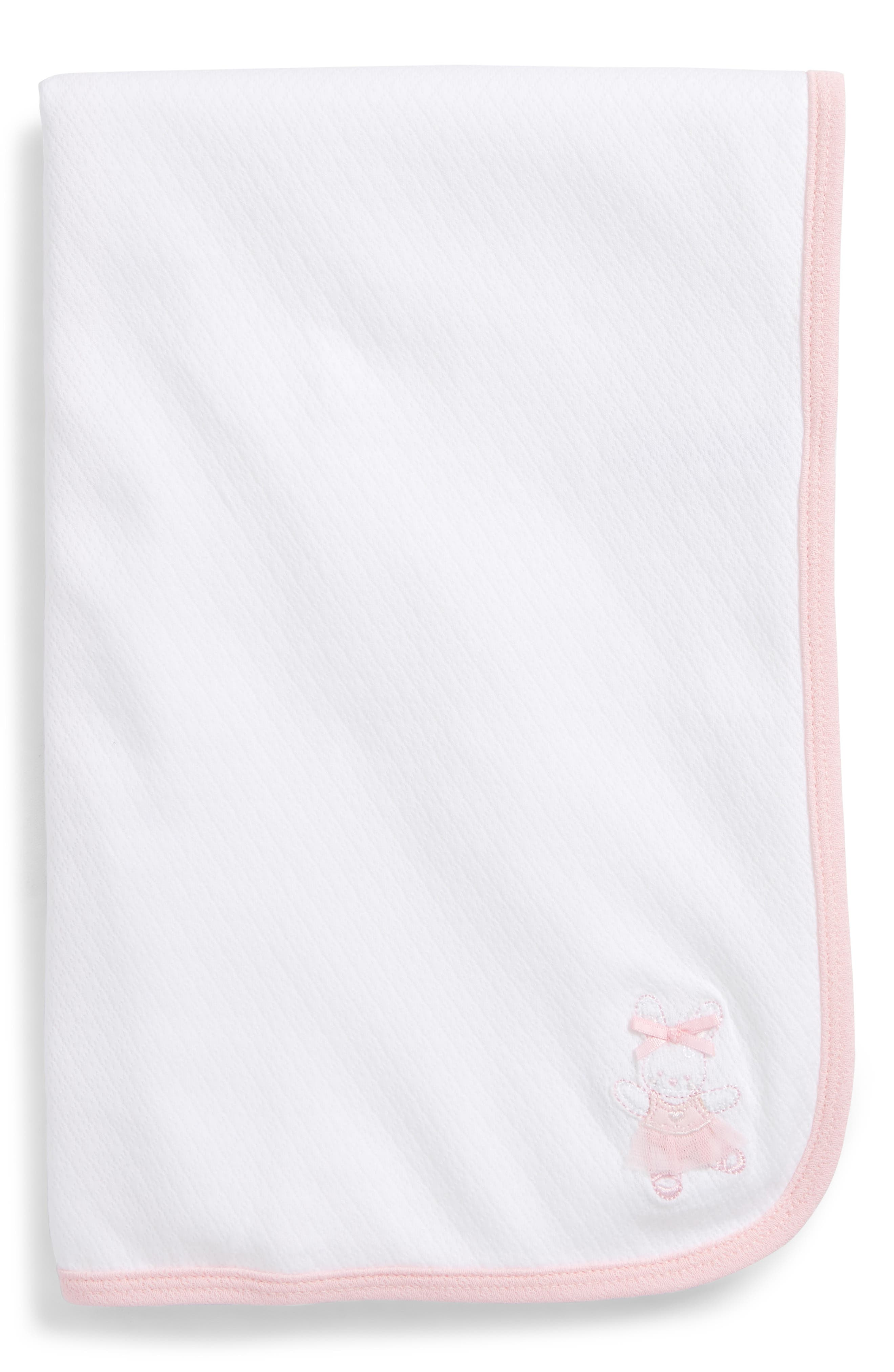 Little Me Ballet Bunny Receiving Blanket (Baby) (Nordstrom Exclusive)