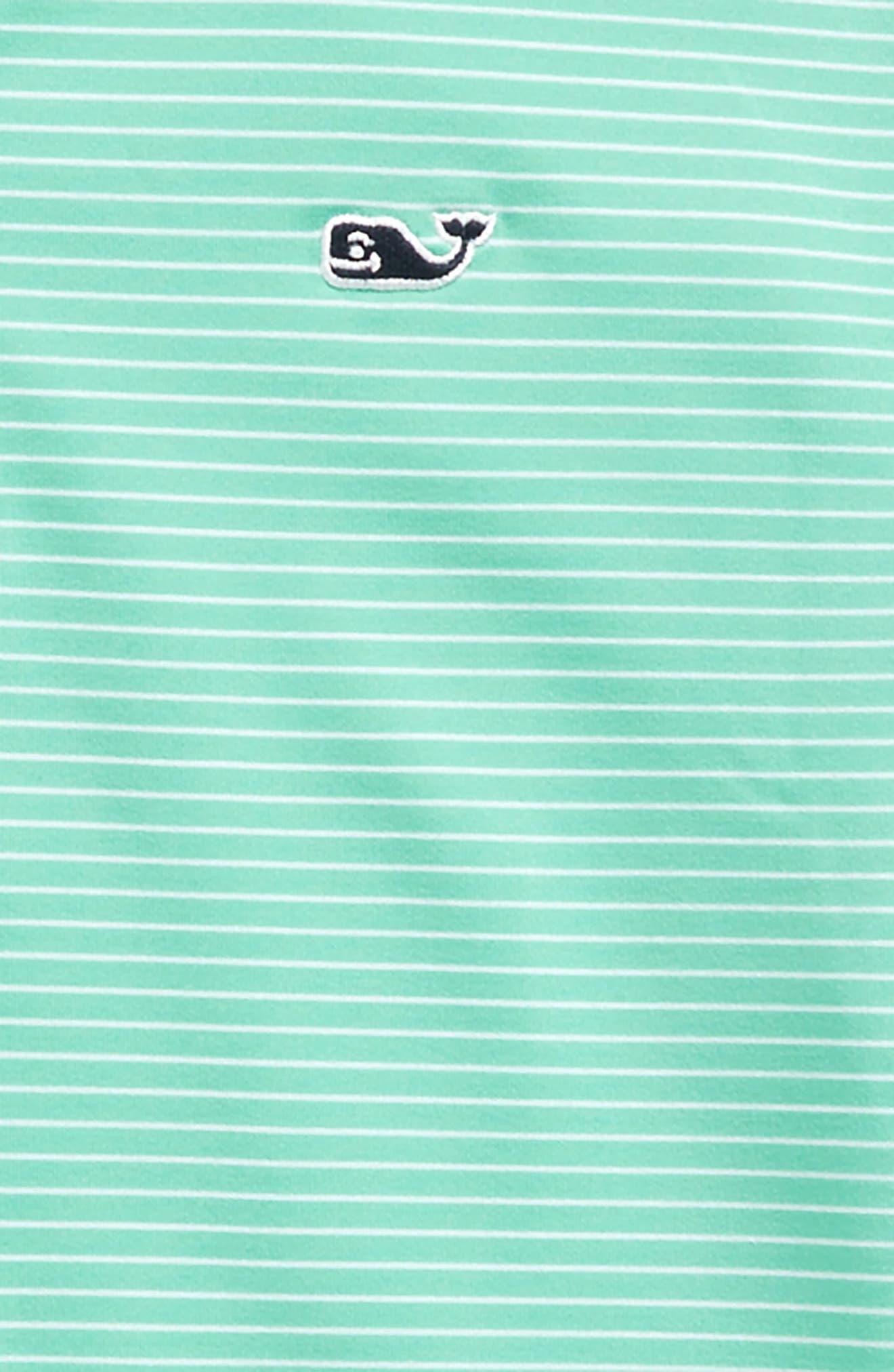 Wilson Stripe Performance Polo,                             Alternate thumbnail 2, color,                             Antigua Green