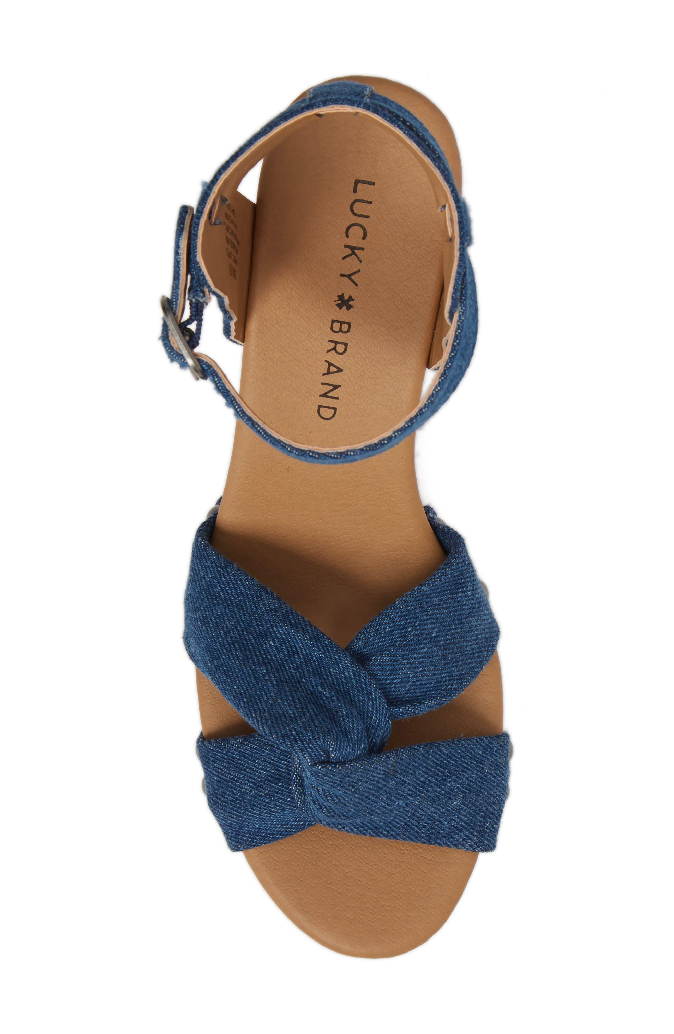 Alternate Image 5  - Lucky Brand Whitneigh Sandal (Women)