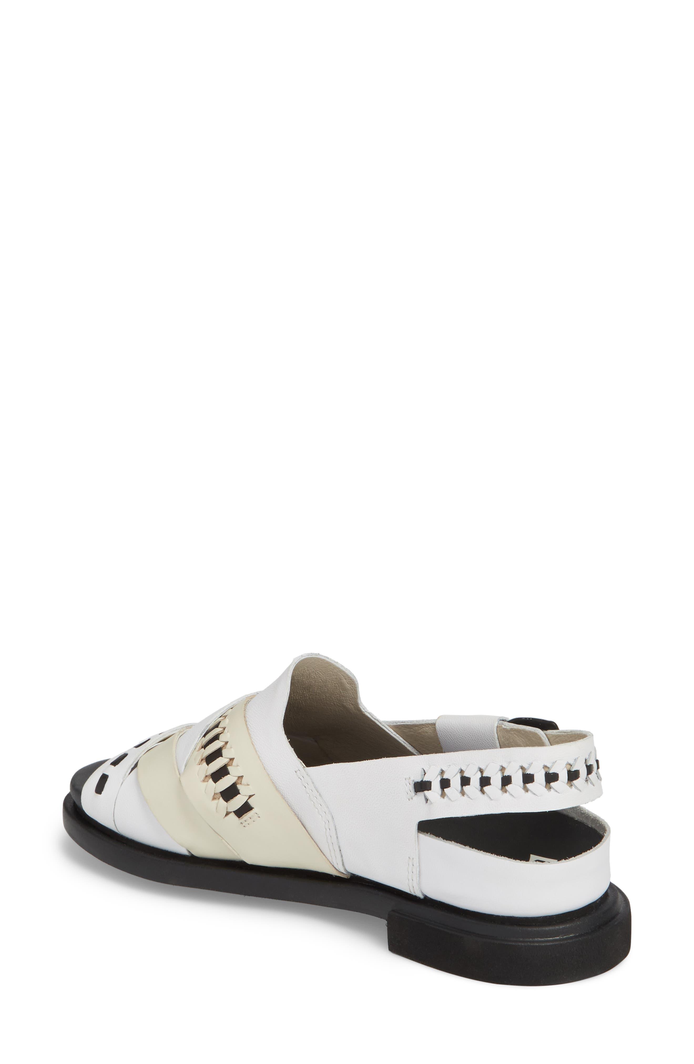 Twins Slingback Sandal,                             Alternate thumbnail 2, color,                             Multi - Assorted Leather
