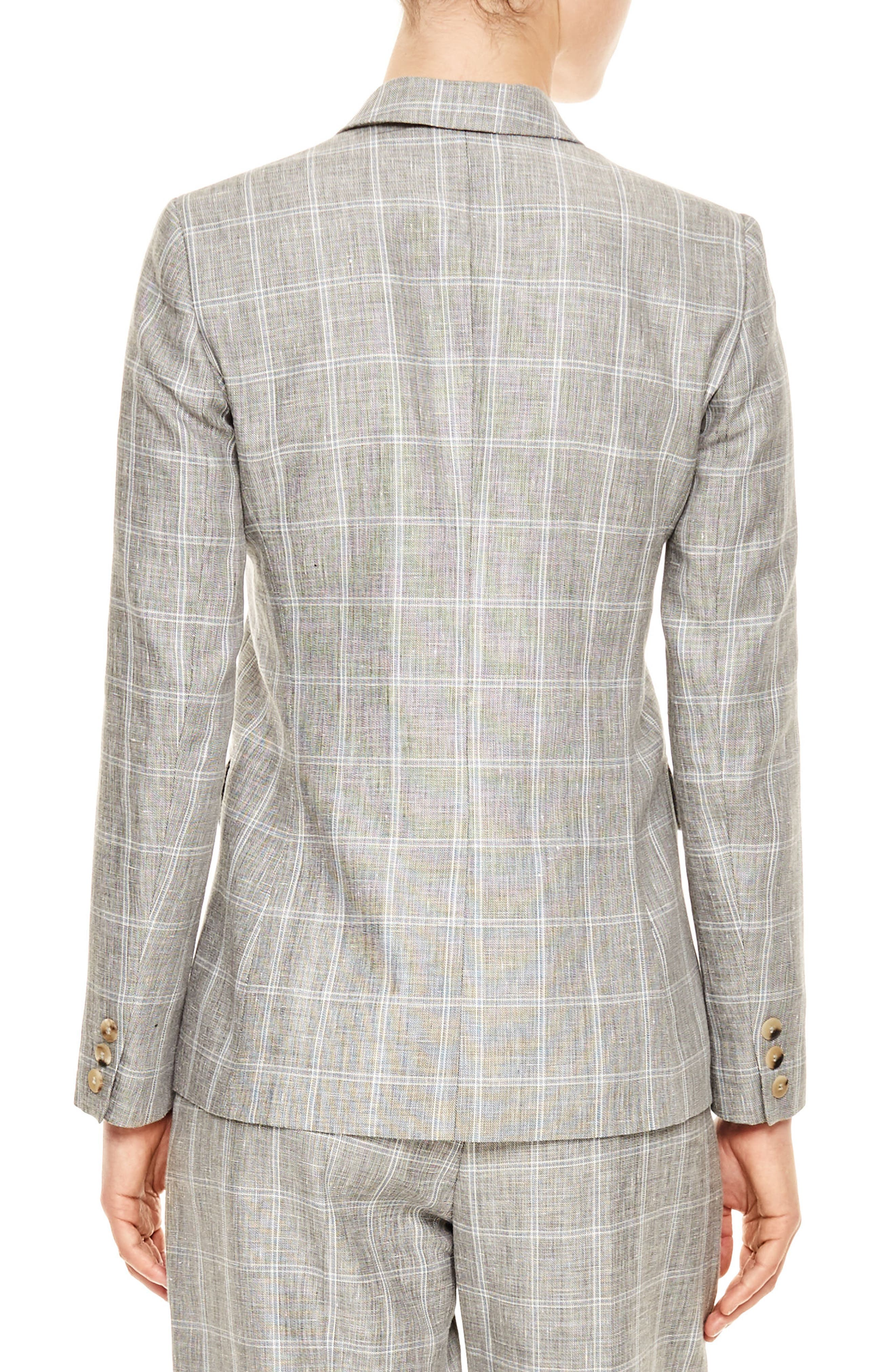 Gris Double Breasted Jacket,                             Alternate thumbnail 2, color,                             Grey