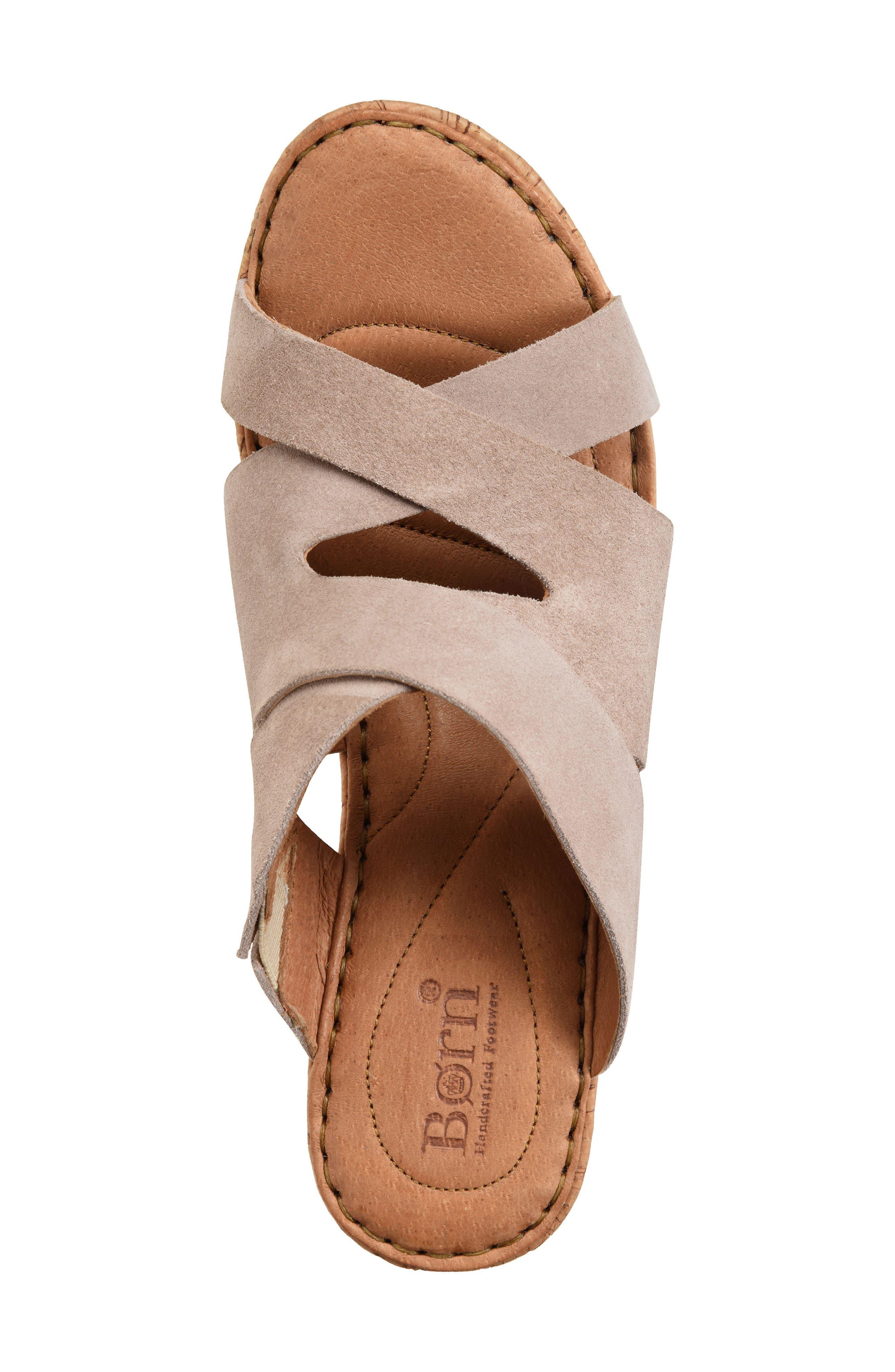 Alternate Image 5  - Børn Padron Wedge Sandal (Women)