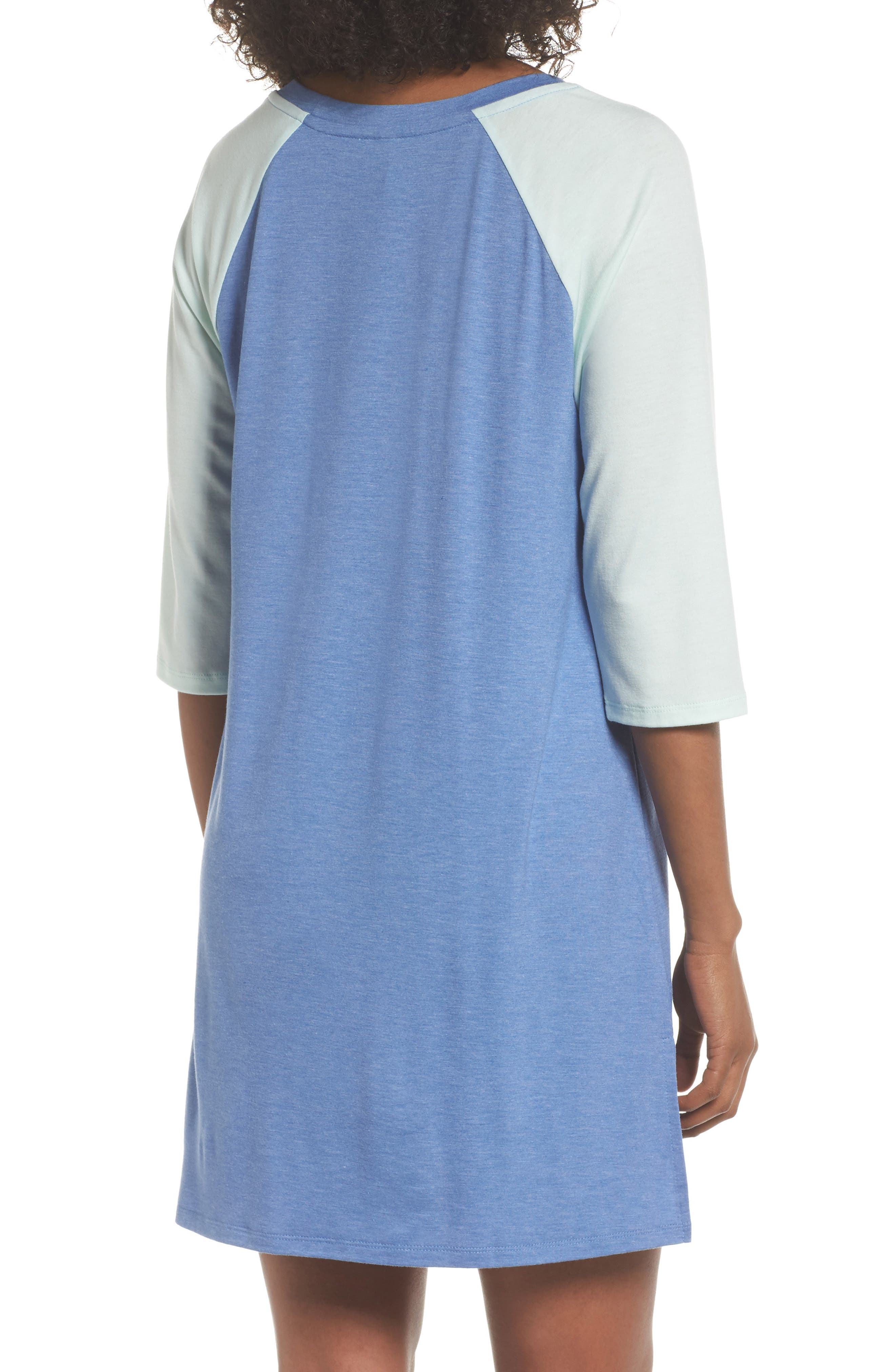 Honeydew All American Sleep Shirt,                             Alternate thumbnail 2, color,                             Sea Breezer