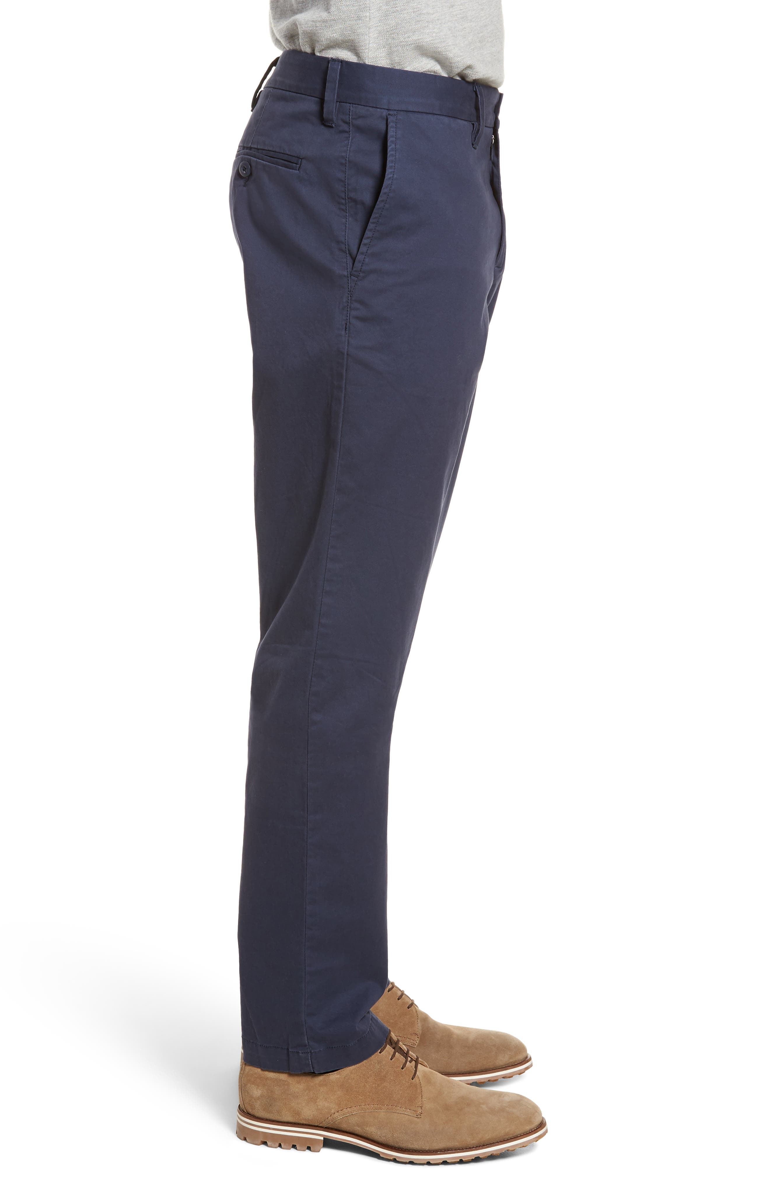 Alternate Image 3  - 1901 Ballard Slim Fit Stretch Chino Pants