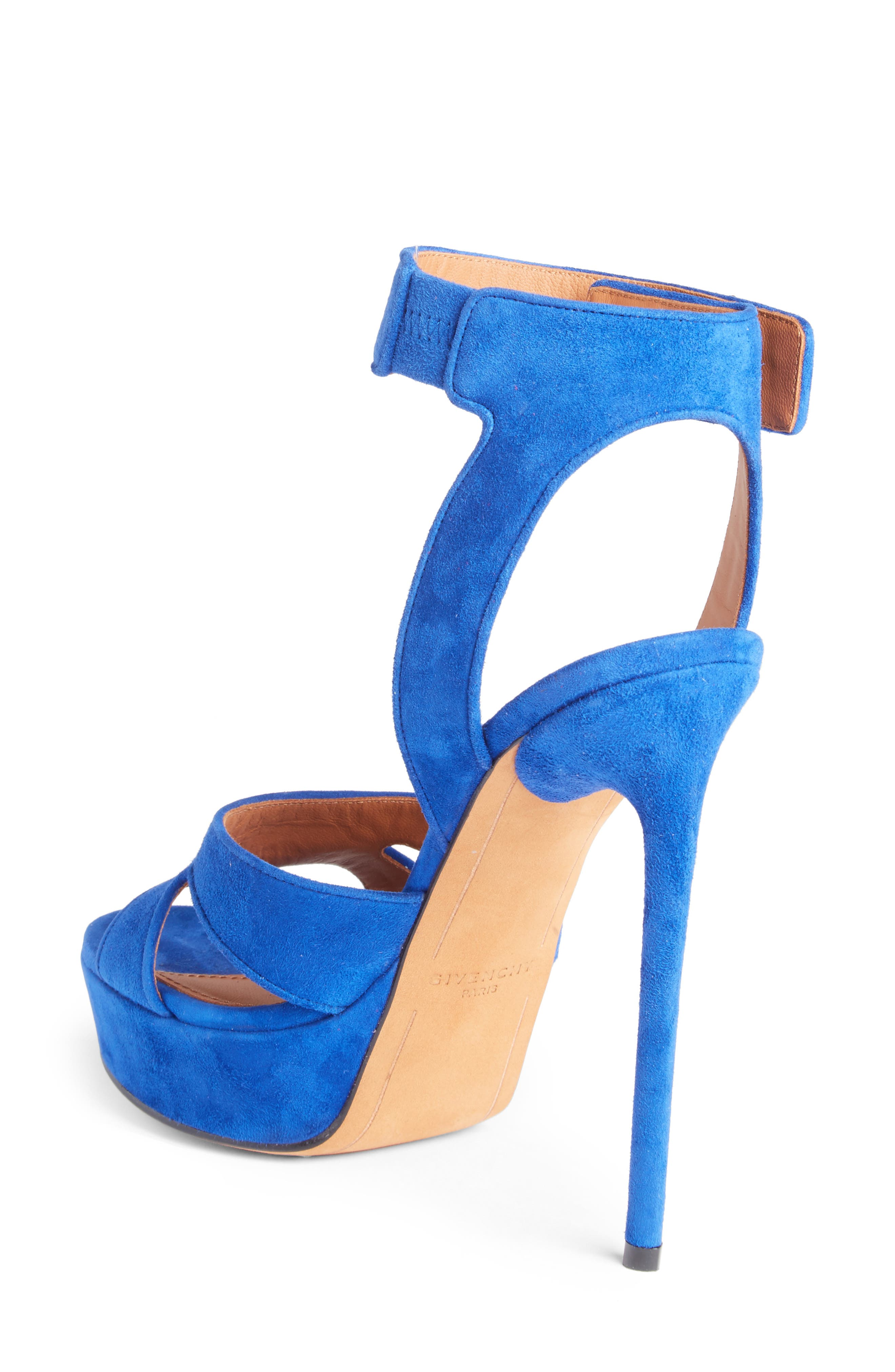 Shark's Tooth Sandal,                             Alternate thumbnail 2, color,                             Electric Blue