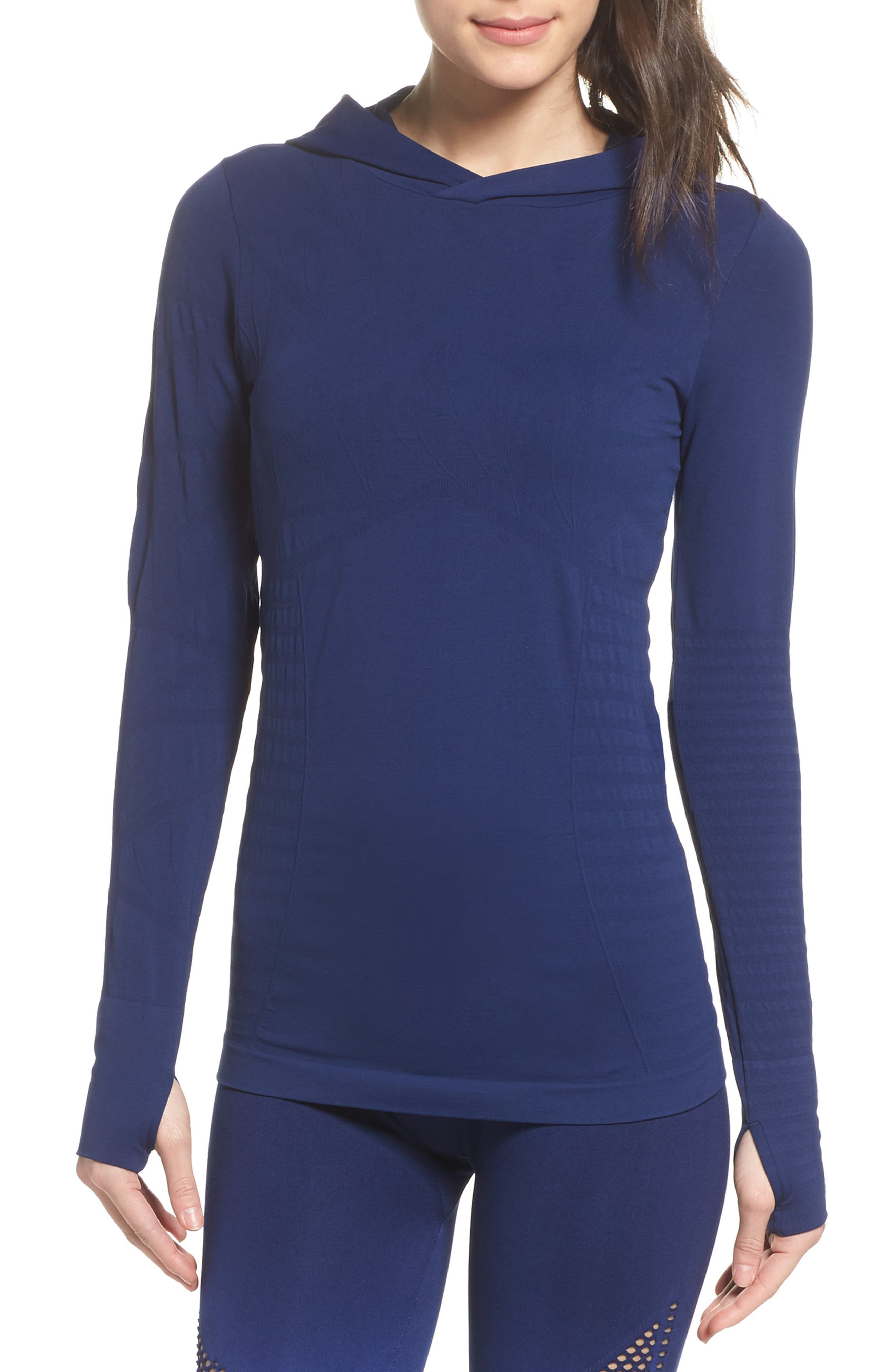 No Boundary Hoodie,                             Main thumbnail 1, color,                             Medieval Blue
