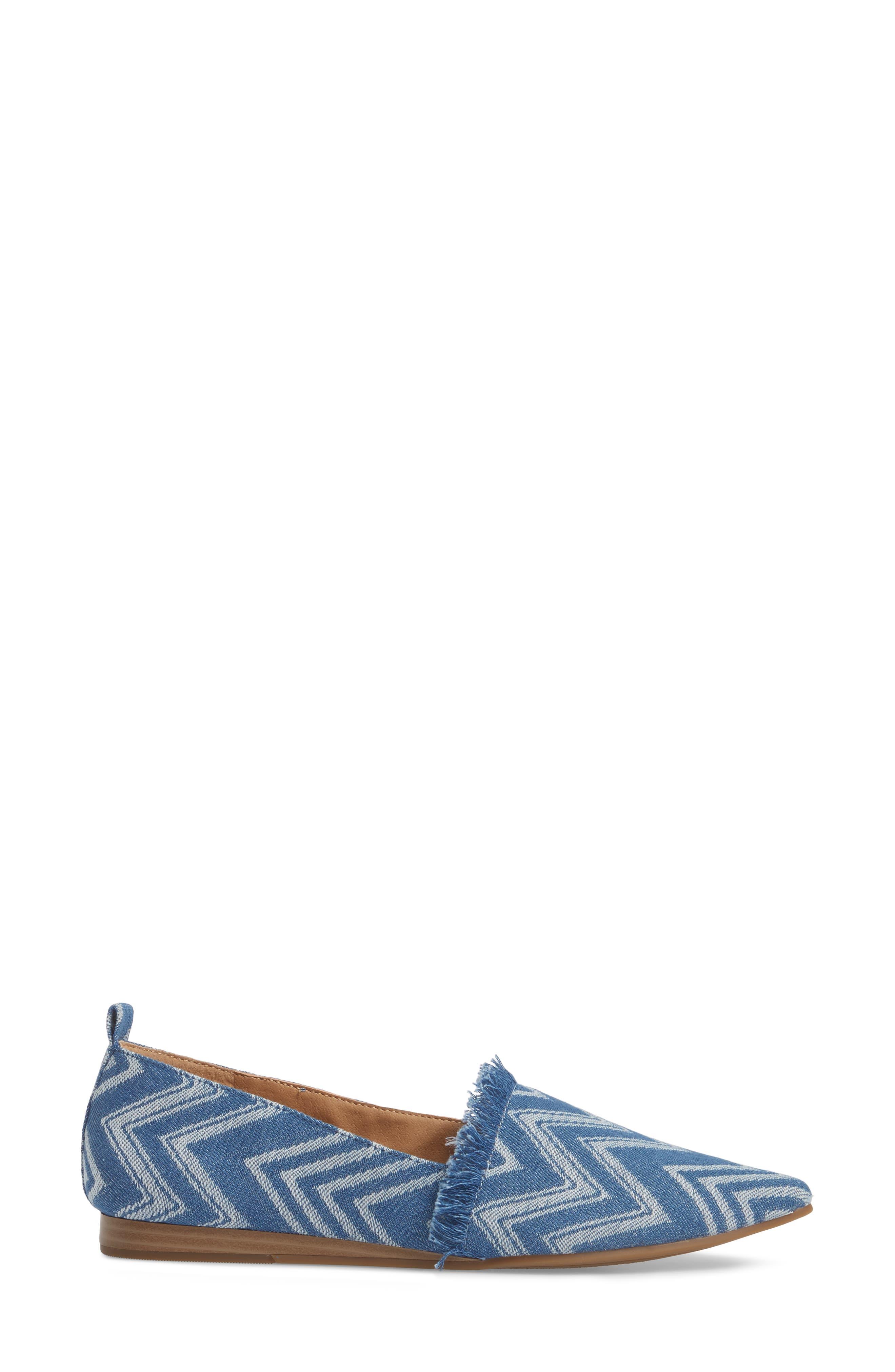 Alternate Image 3  - Lucky Brand Beechmer Pointy Toe Flat (Women)