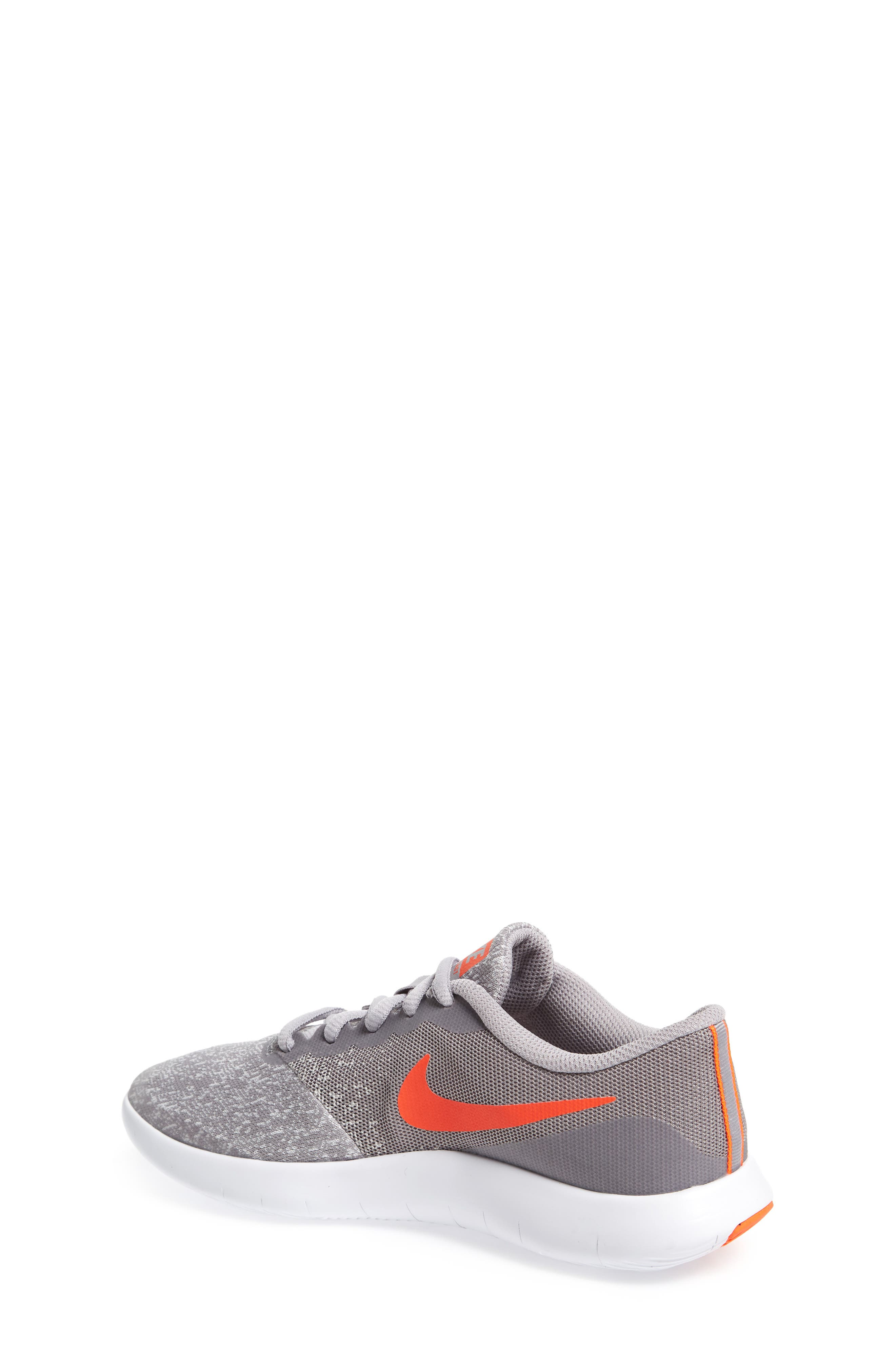 Flex Contact Running Shoe,                             Alternate thumbnail 2, color,                             Atmosphere Grey/ Total Crimson