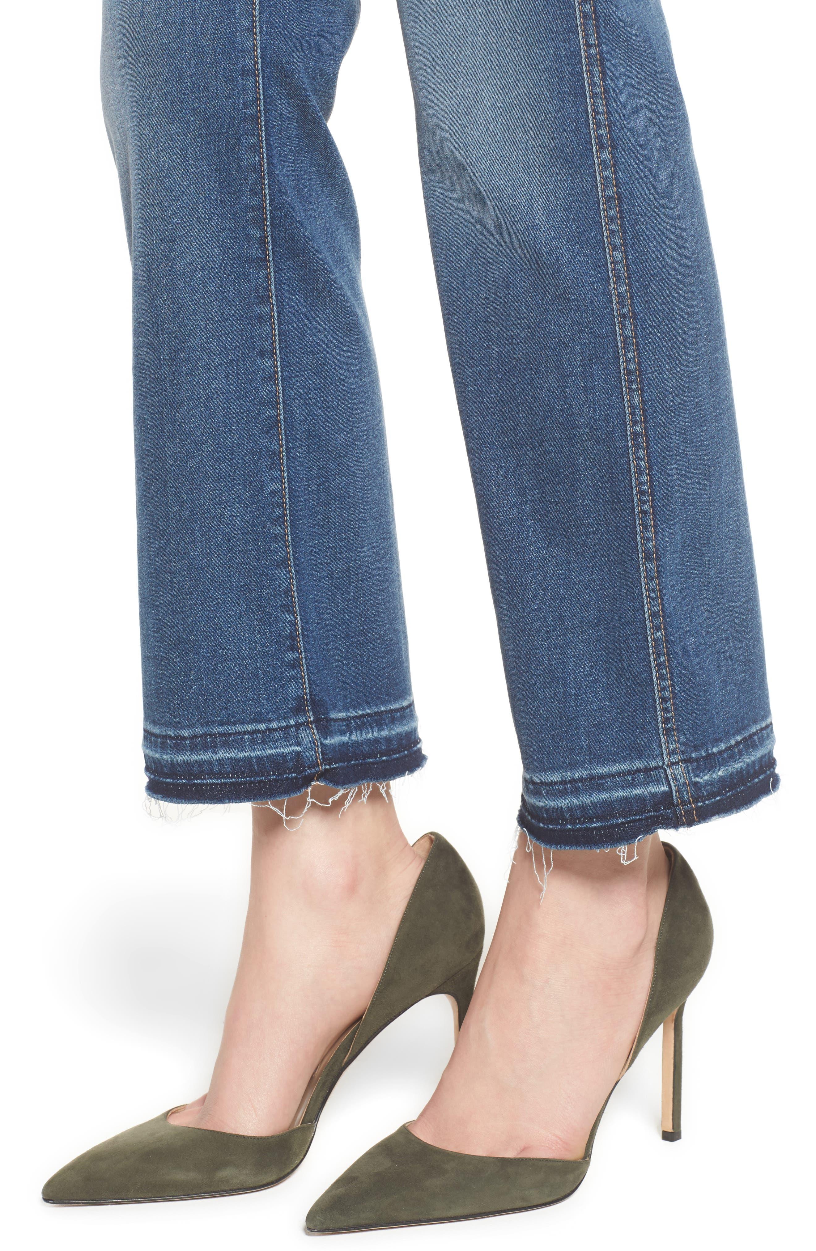 b(air) Crop Bootcut Jeans,                             Alternate thumbnail 4, color,                             Bair Vintage Dusk