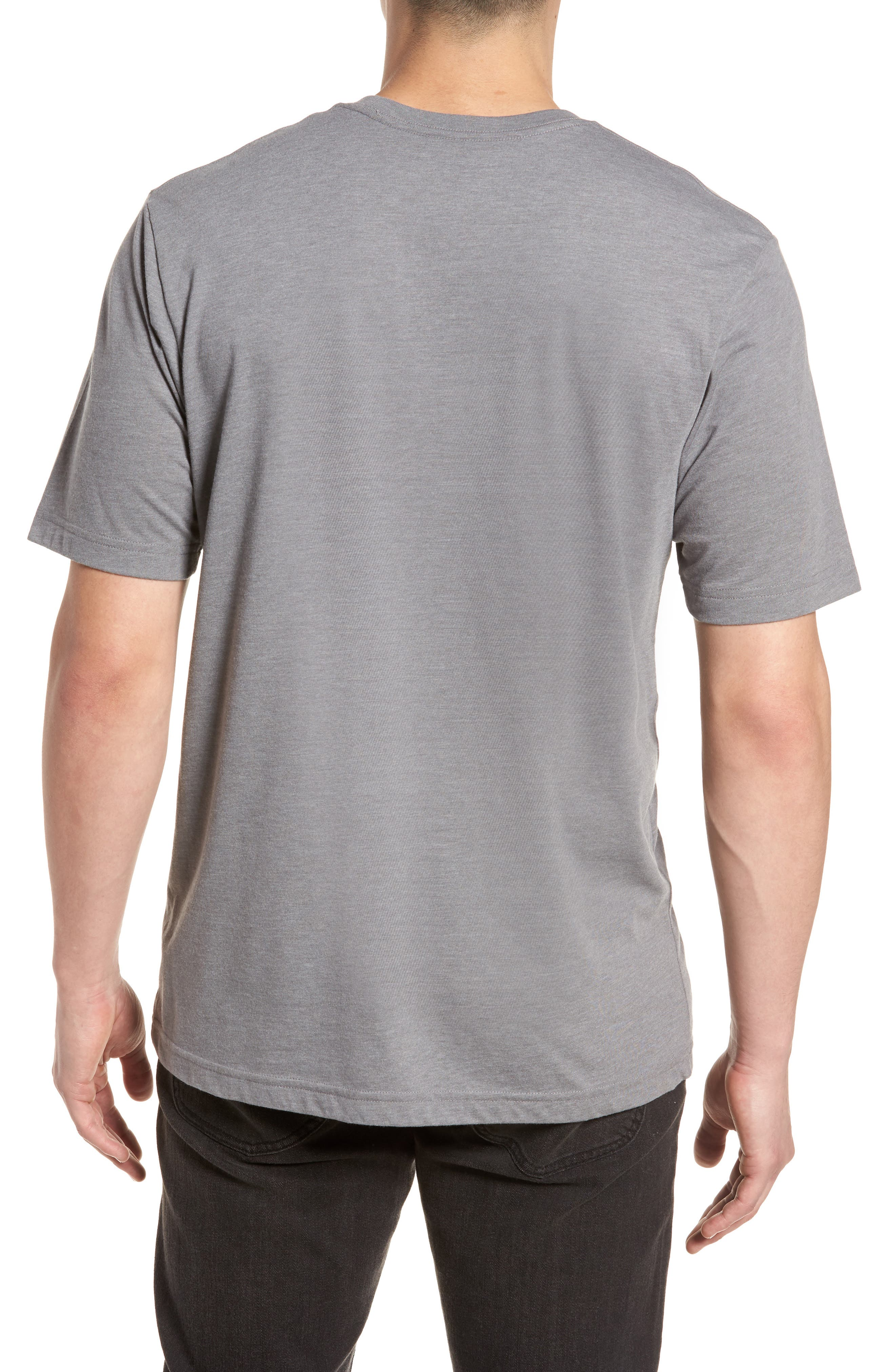 The Bus Stop Graphic T-Shirt,                             Alternate thumbnail 2, color,                             Heather Grey