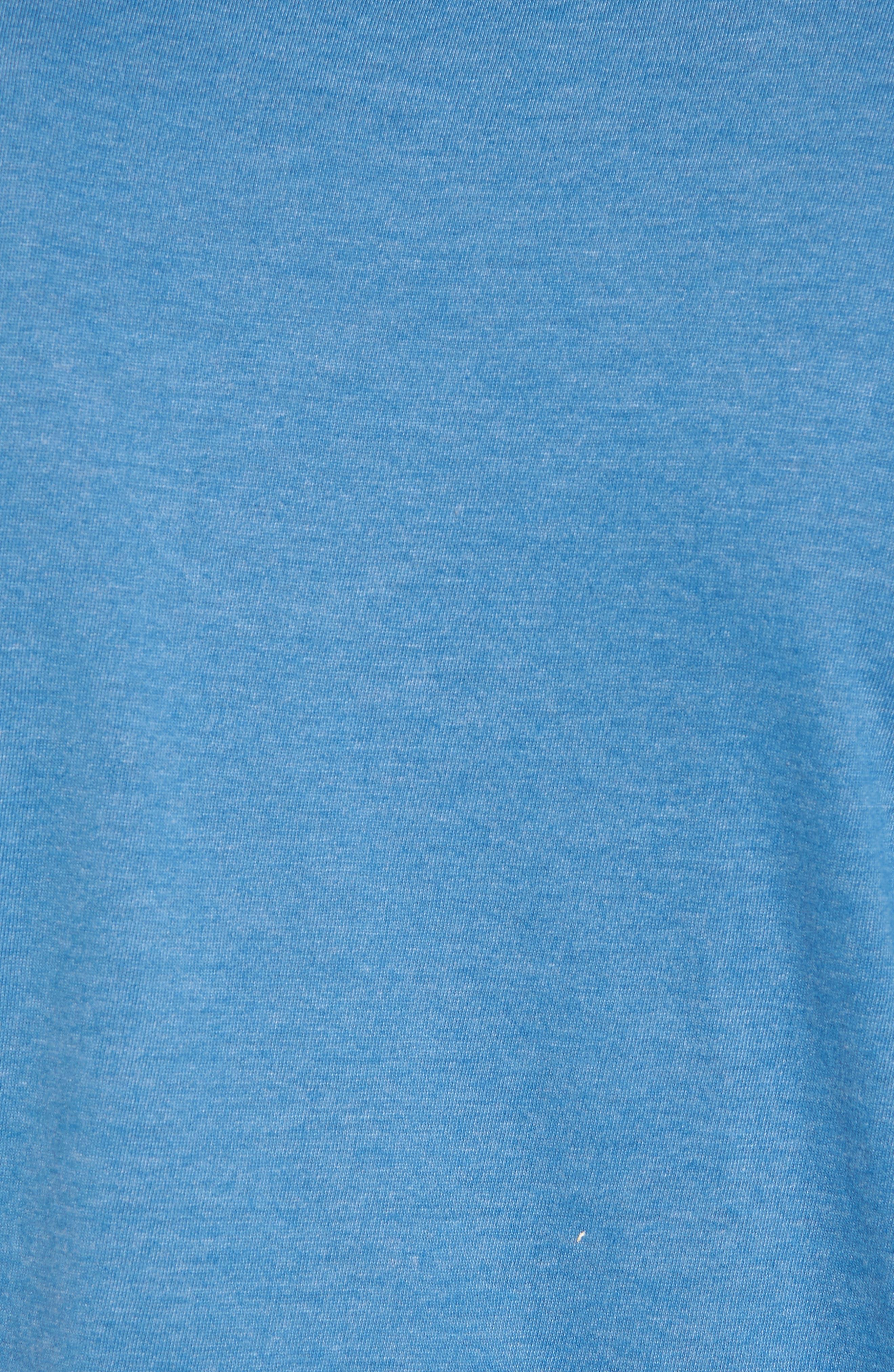 Hillwood Blues T-Shirt,                             Alternate thumbnail 5, color,                             Heather Royal