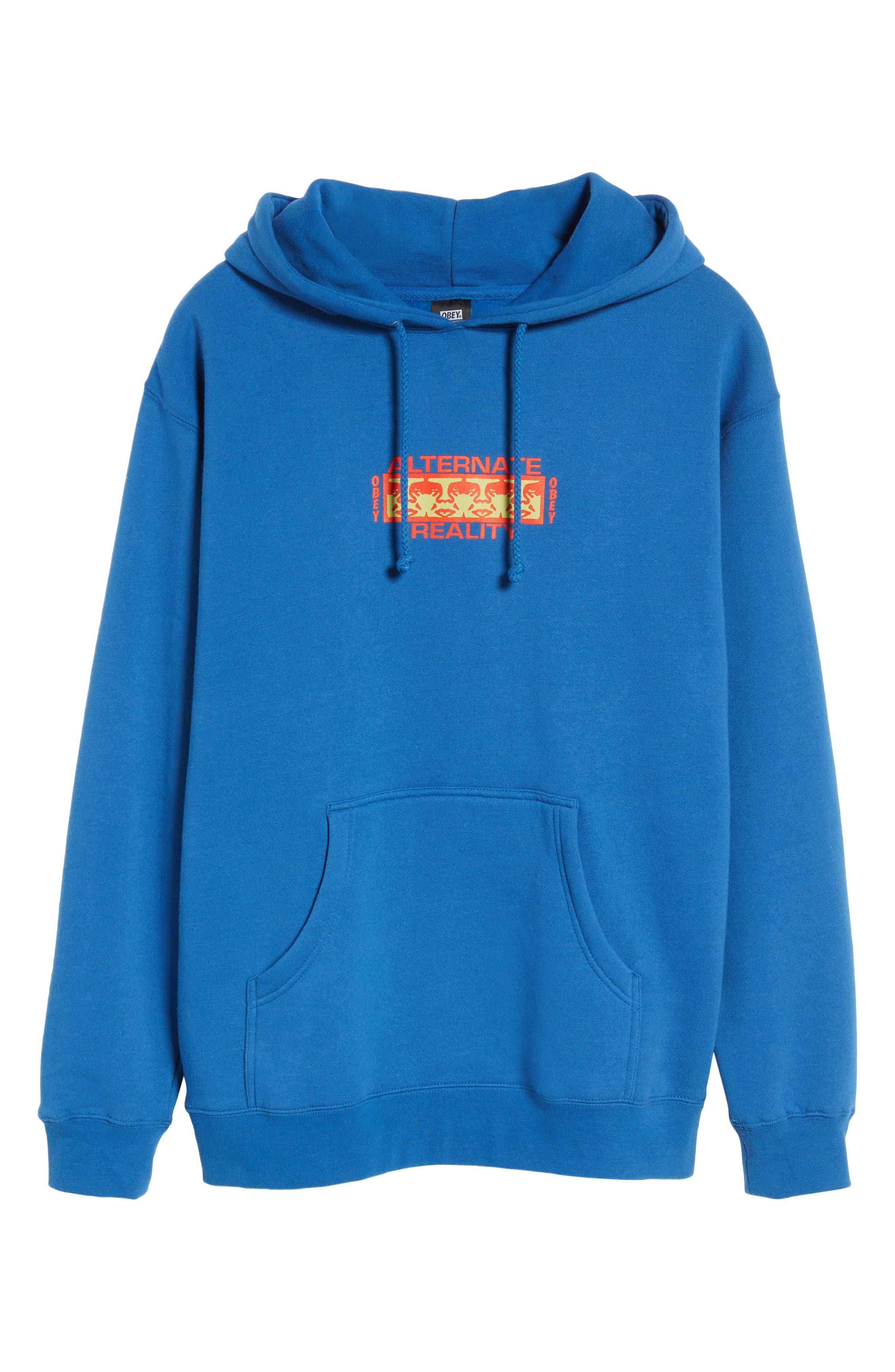 Alternate Reality Hoodie Sweatshirt,                             Alternate thumbnail 6, color,                             Royal Blue