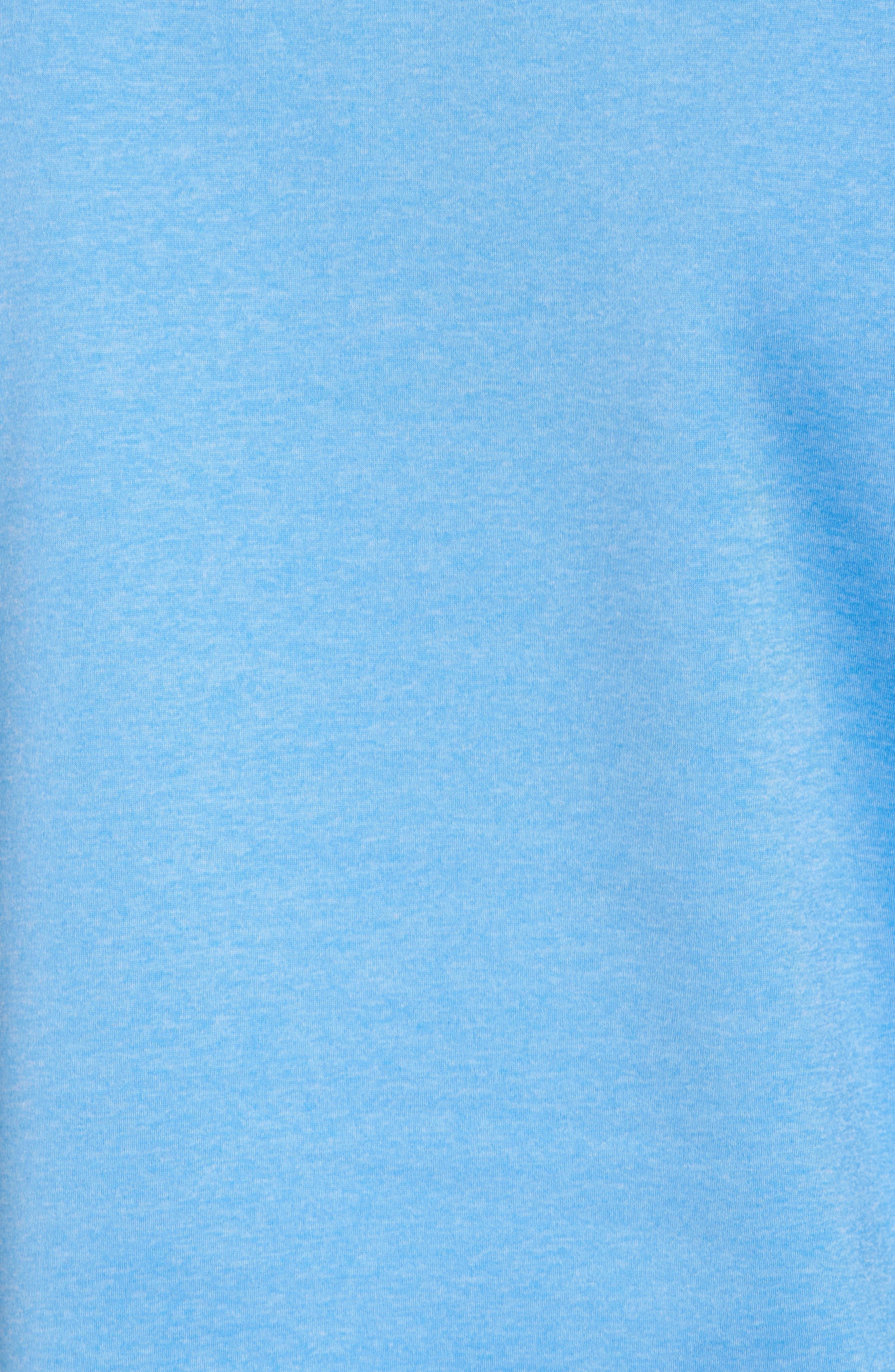Shep Performance Fleece Quarter Zip Pullover,                             Alternate thumbnail 5, color,                             Ocean Breeze