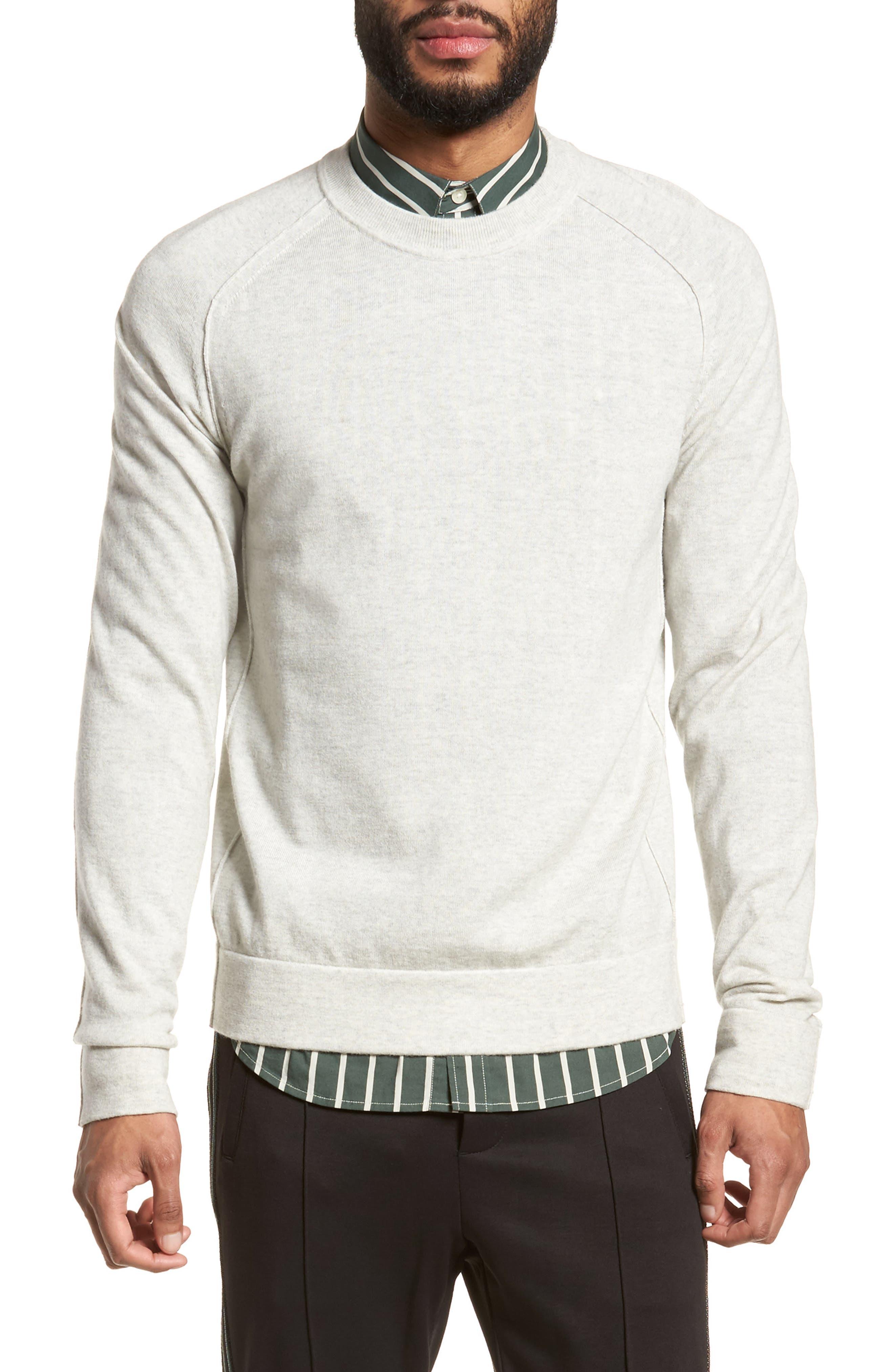 Vince Raw Seam Merino Wool Sweater