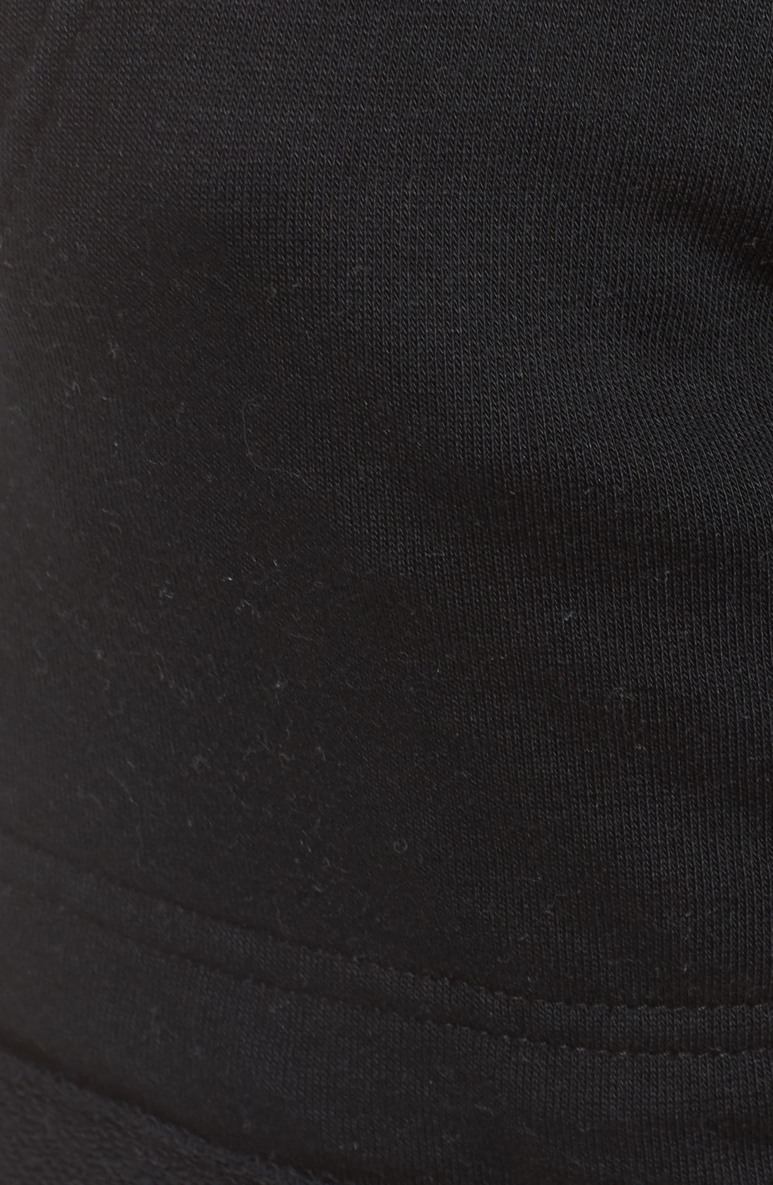 Lounge Shorts,                             Alternate thumbnail 6, color,                             True Black