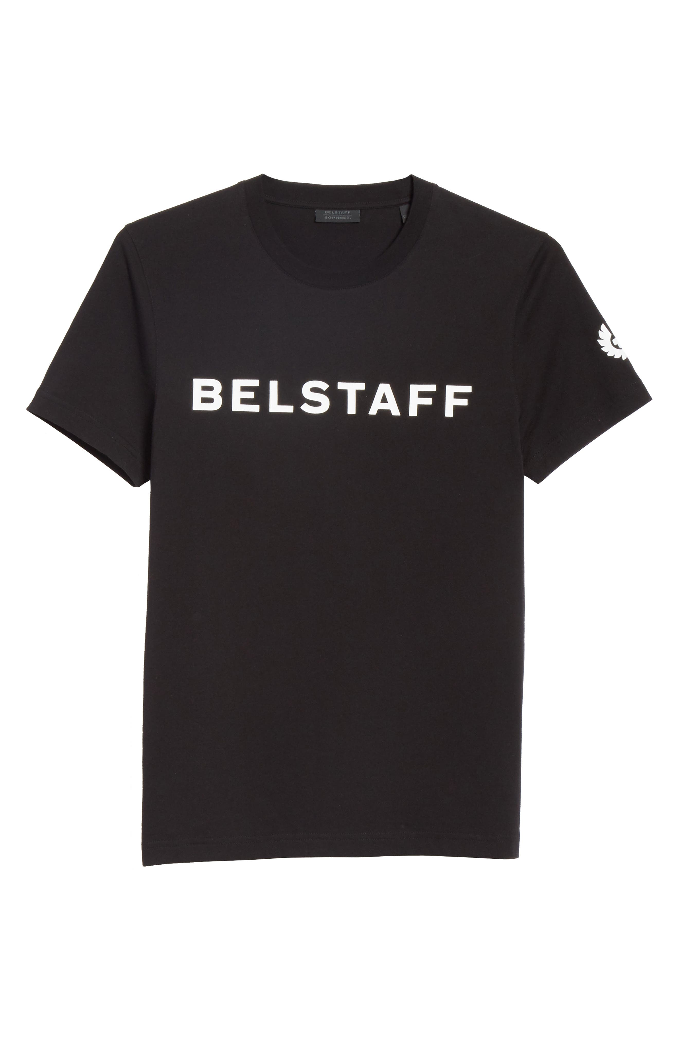 Heritage Logo Graphic T-Shirt,                             Alternate thumbnail 6, color,                             Black