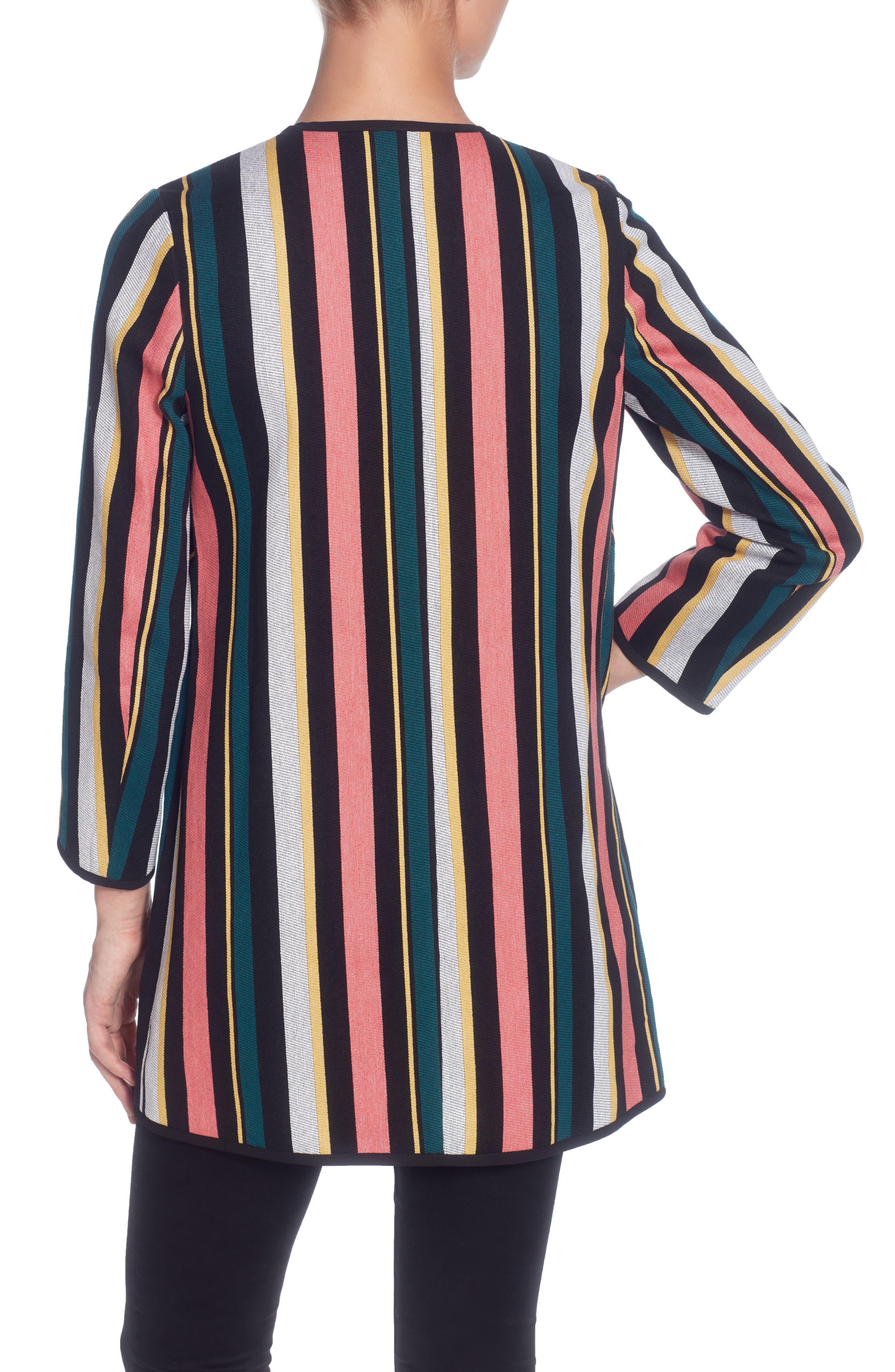 Pip Stripe Jacket,                             Alternate thumbnail 2, color,                             Multi Stripe