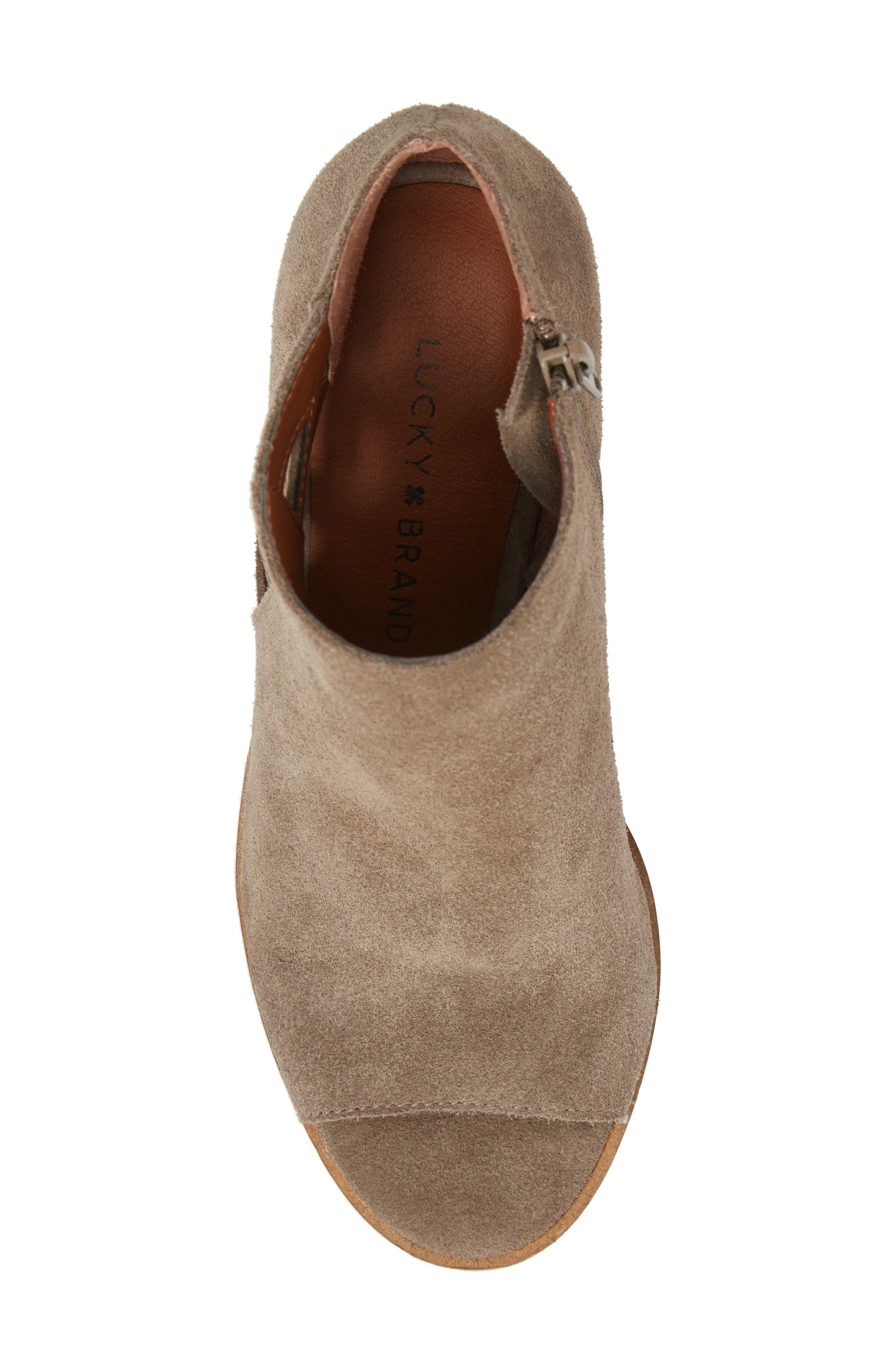 Kantoah Bootie,                             Alternate thumbnail 5, color,                             Brindle Suede