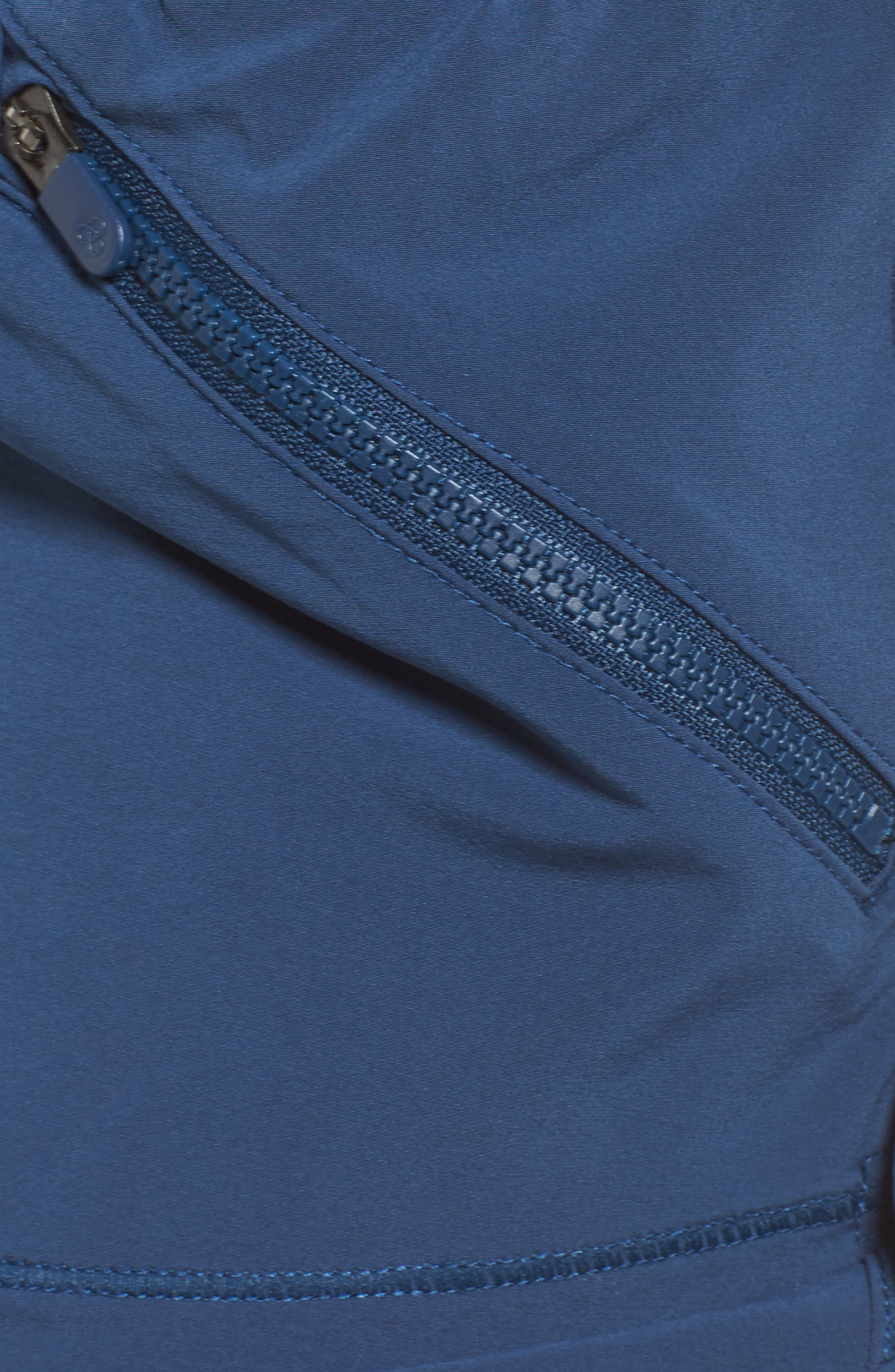 Switchback Shorts,                             Alternate thumbnail 6, color,                             Blue Insignia