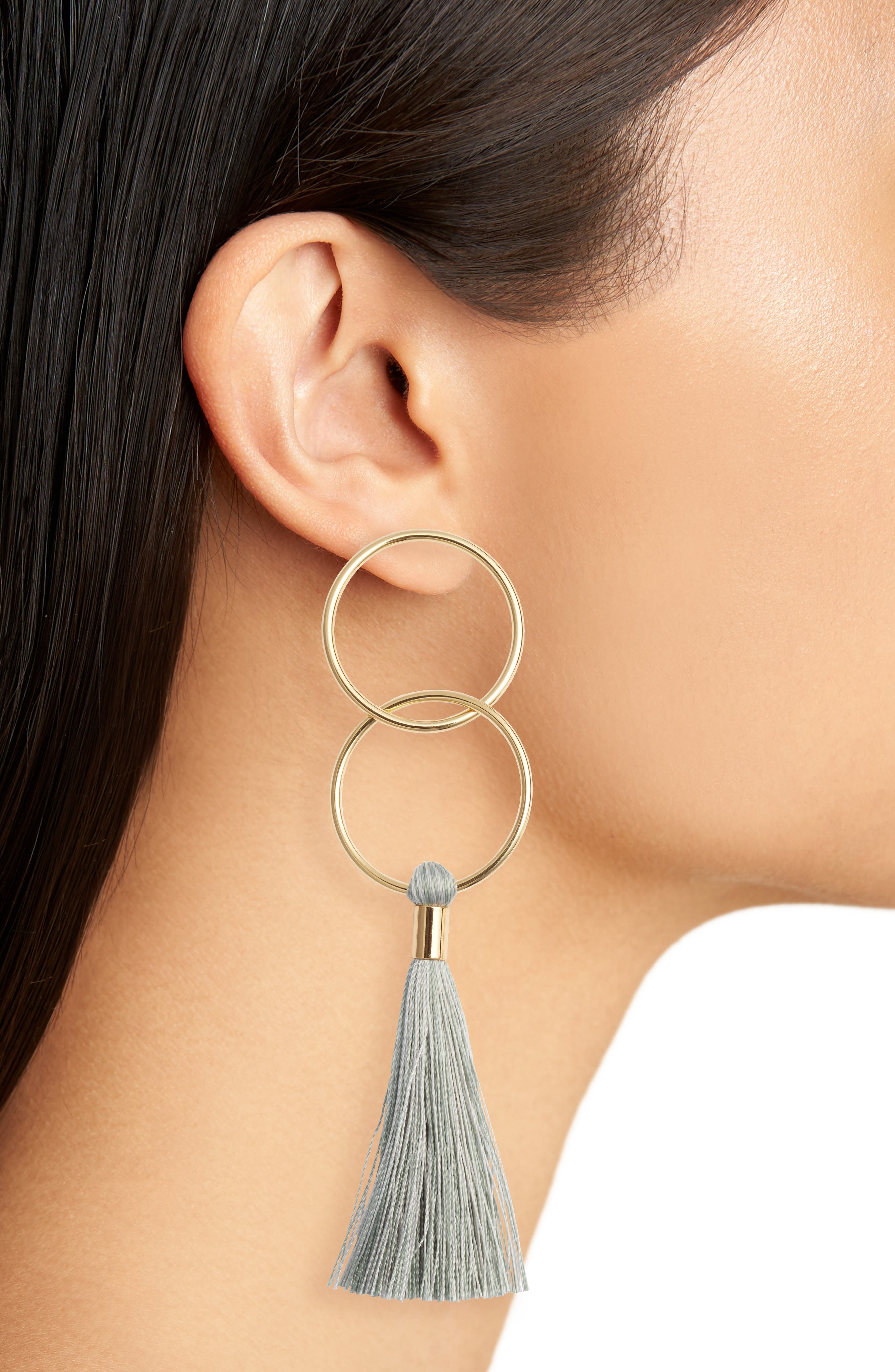 Alternate Image 2  - gorjana Carmen Tassel Earrings