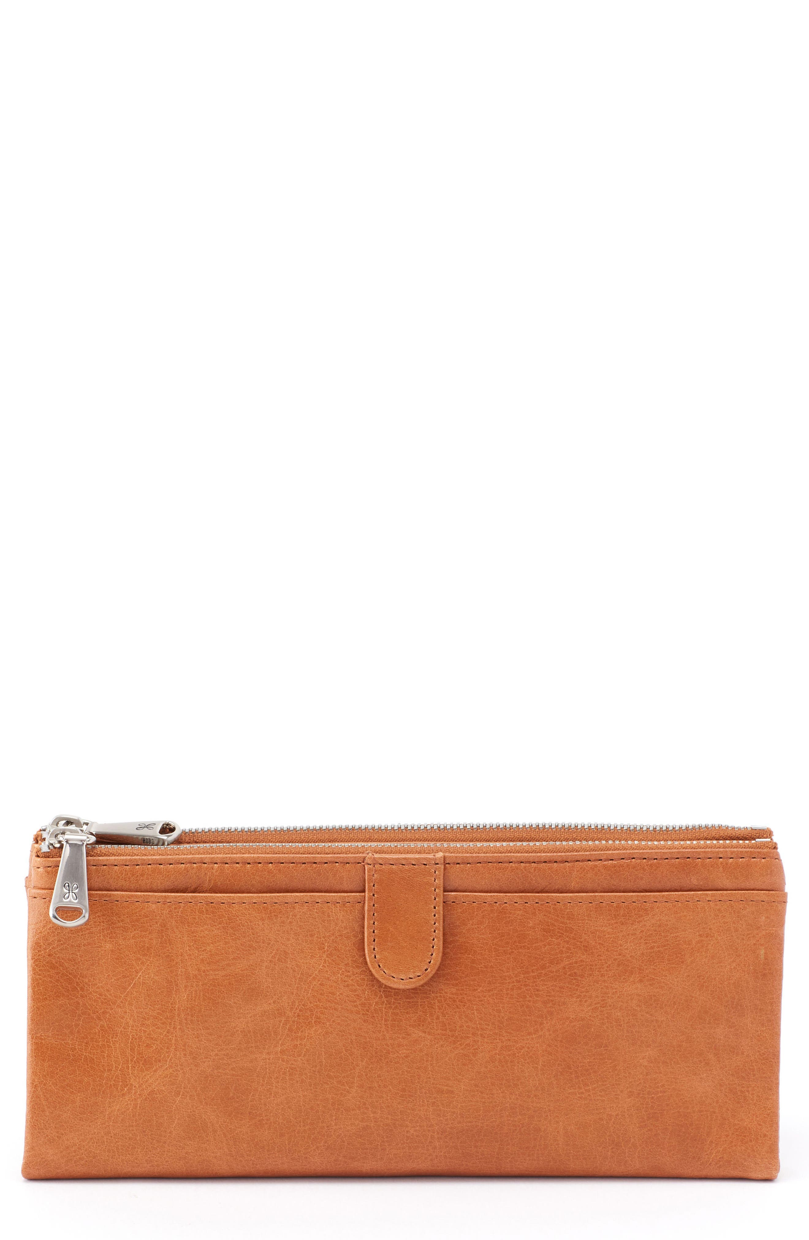 Main Image - Hobo 'Taylor' Glazed Leather Wallet