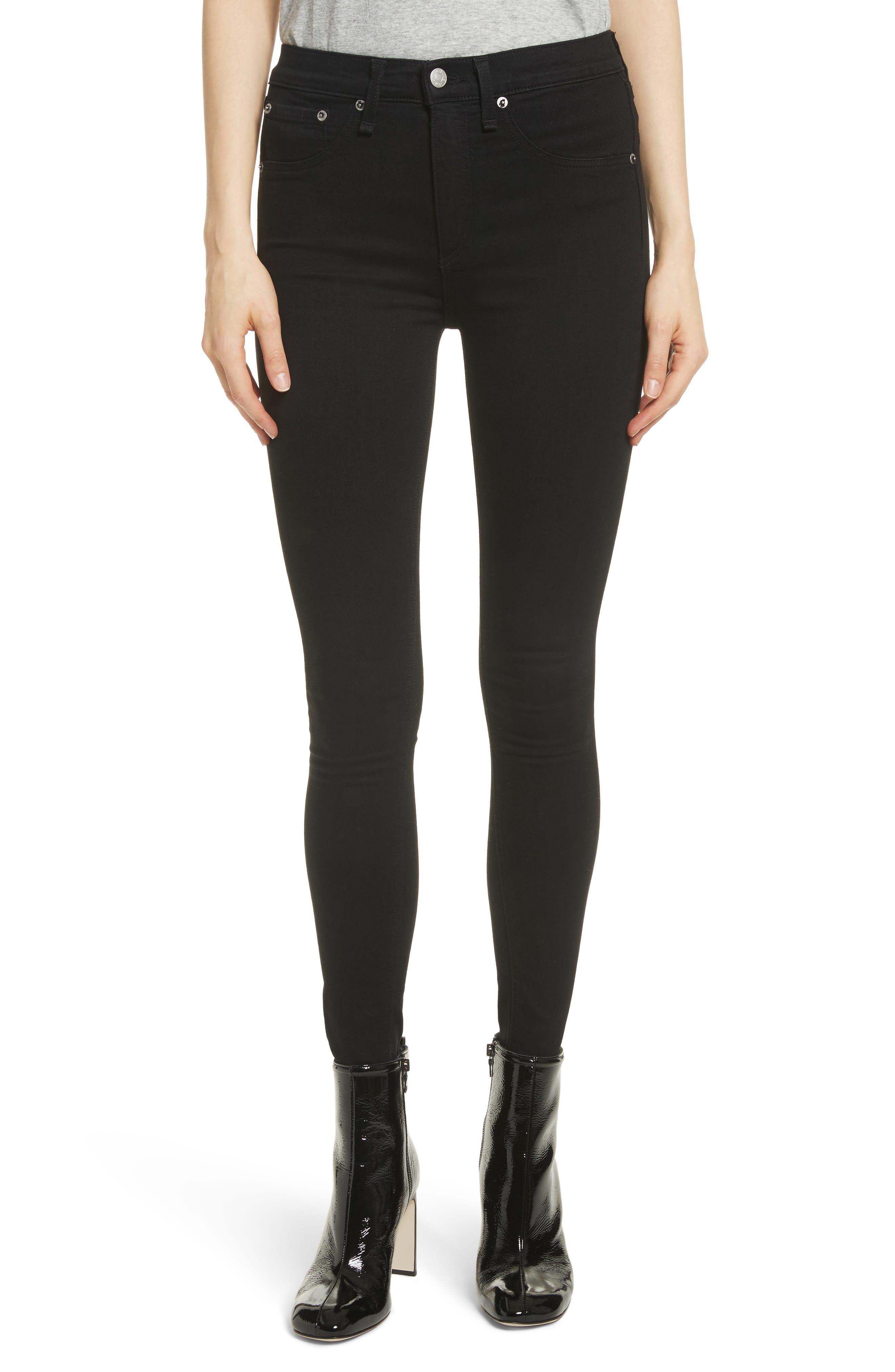 rag & bone/JEAN Isabel High Waist Skinny Jeans