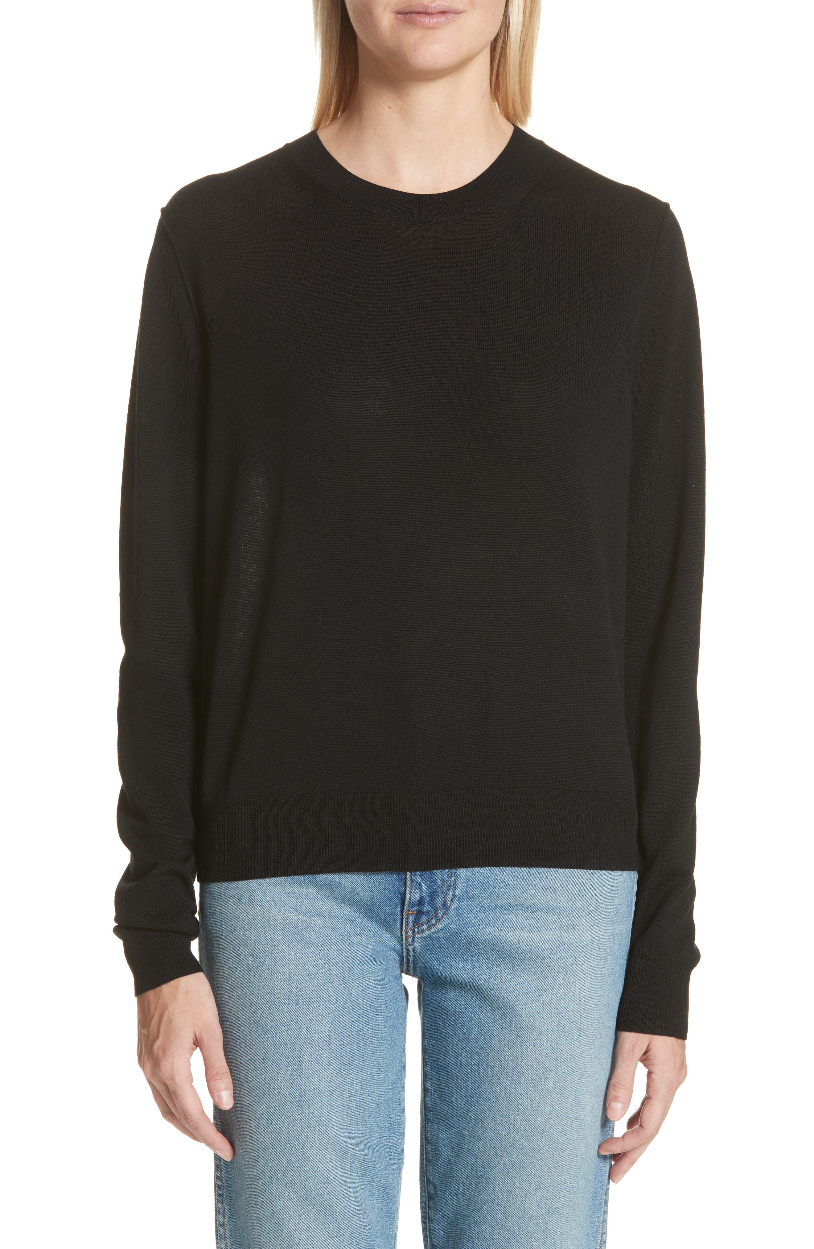 ACNE Studios Norma Semi Sheer Sweater