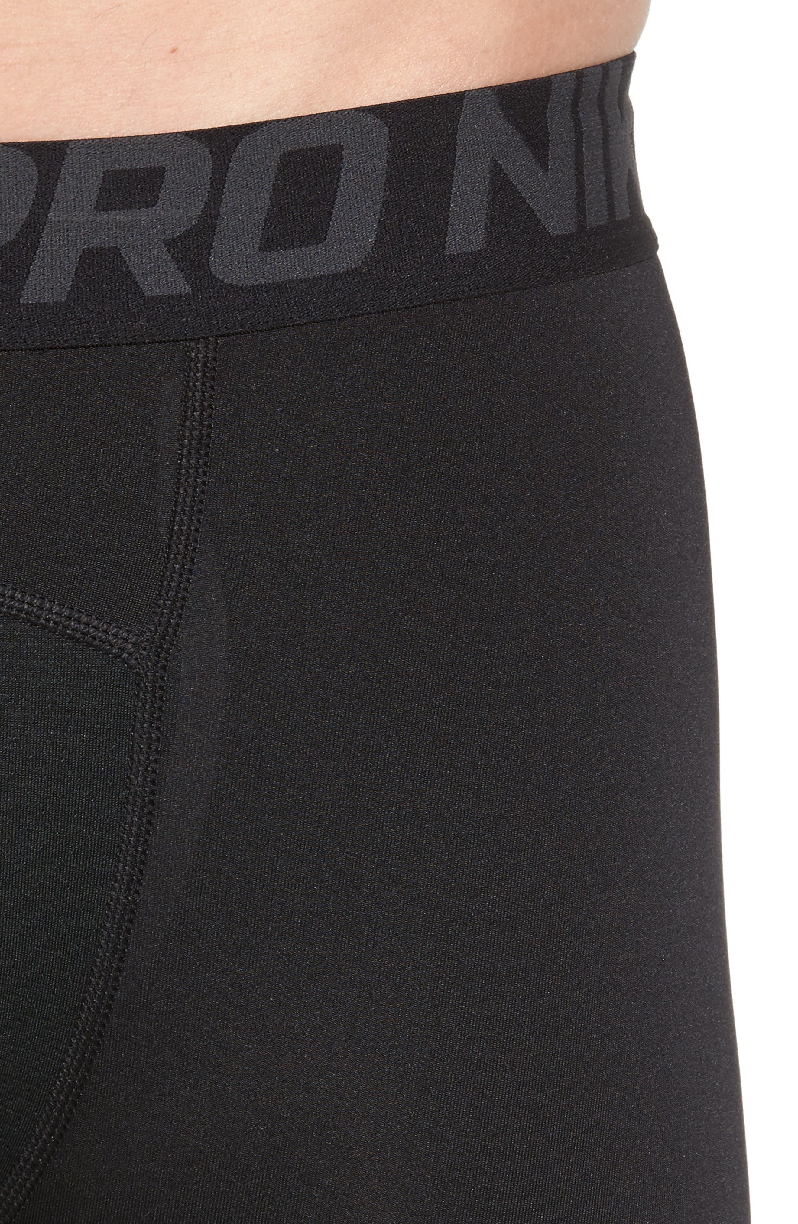 Alternate Image 3  - Nike Pro Three Quarter Training Tights