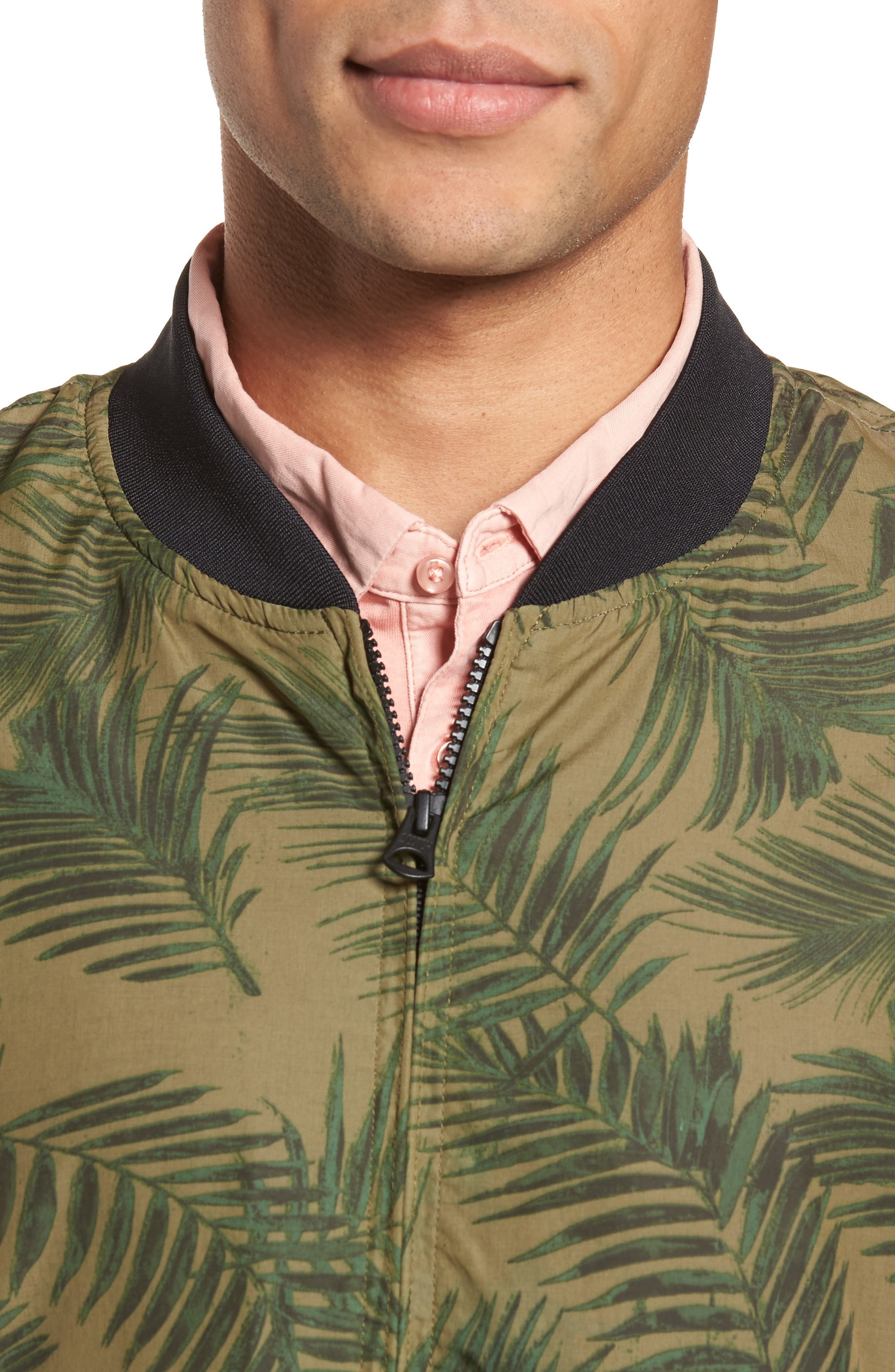 Bomber Jacket,                             Alternate thumbnail 4, color,                             Army