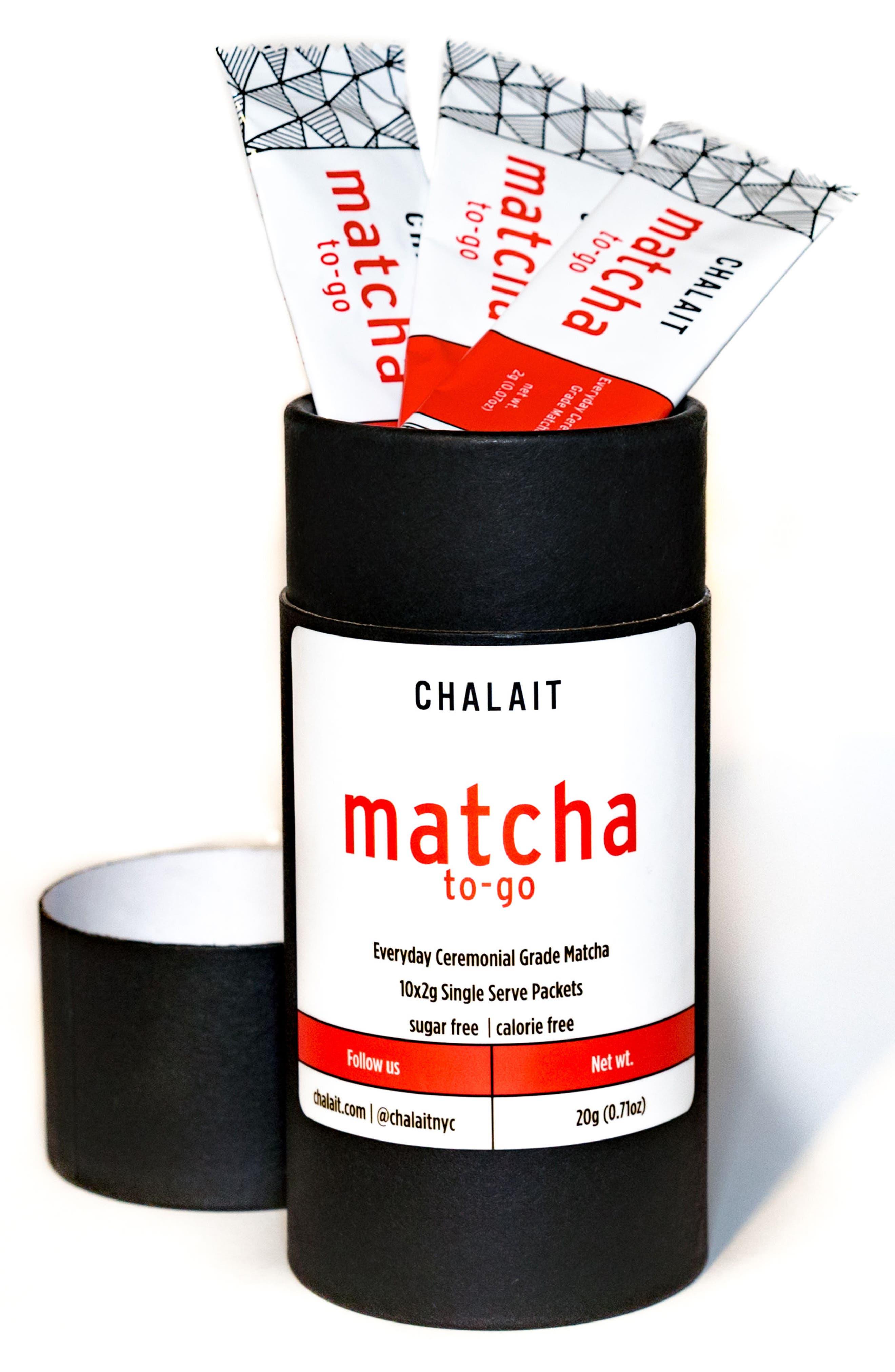 Alternate Image 2  - Chalait Ceremonial Everyday Matcha To-Go Sticks