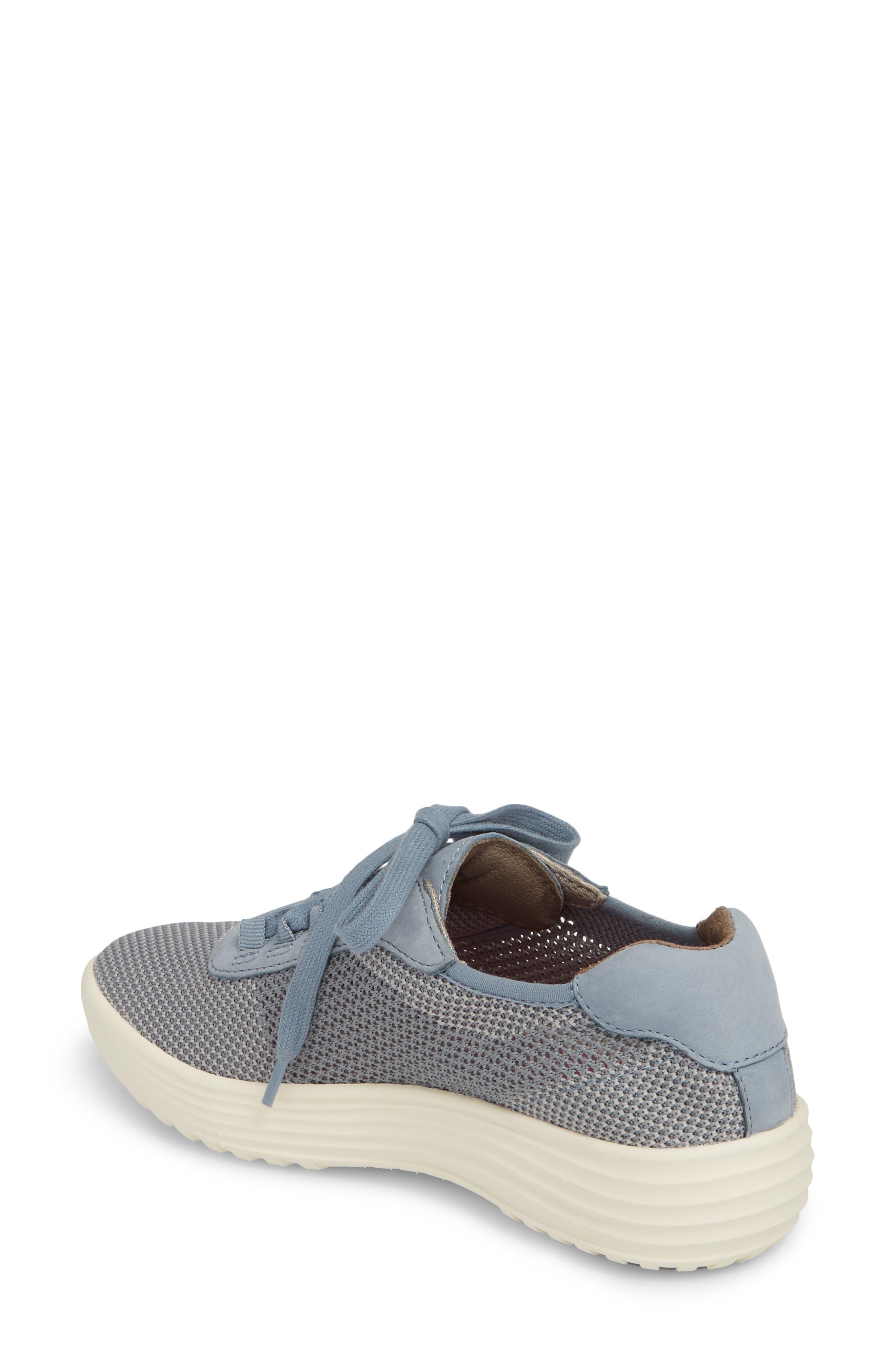 Malibu Sneaker,                             Alternate thumbnail 2, color,                             Chambray Grey Knit Fabric