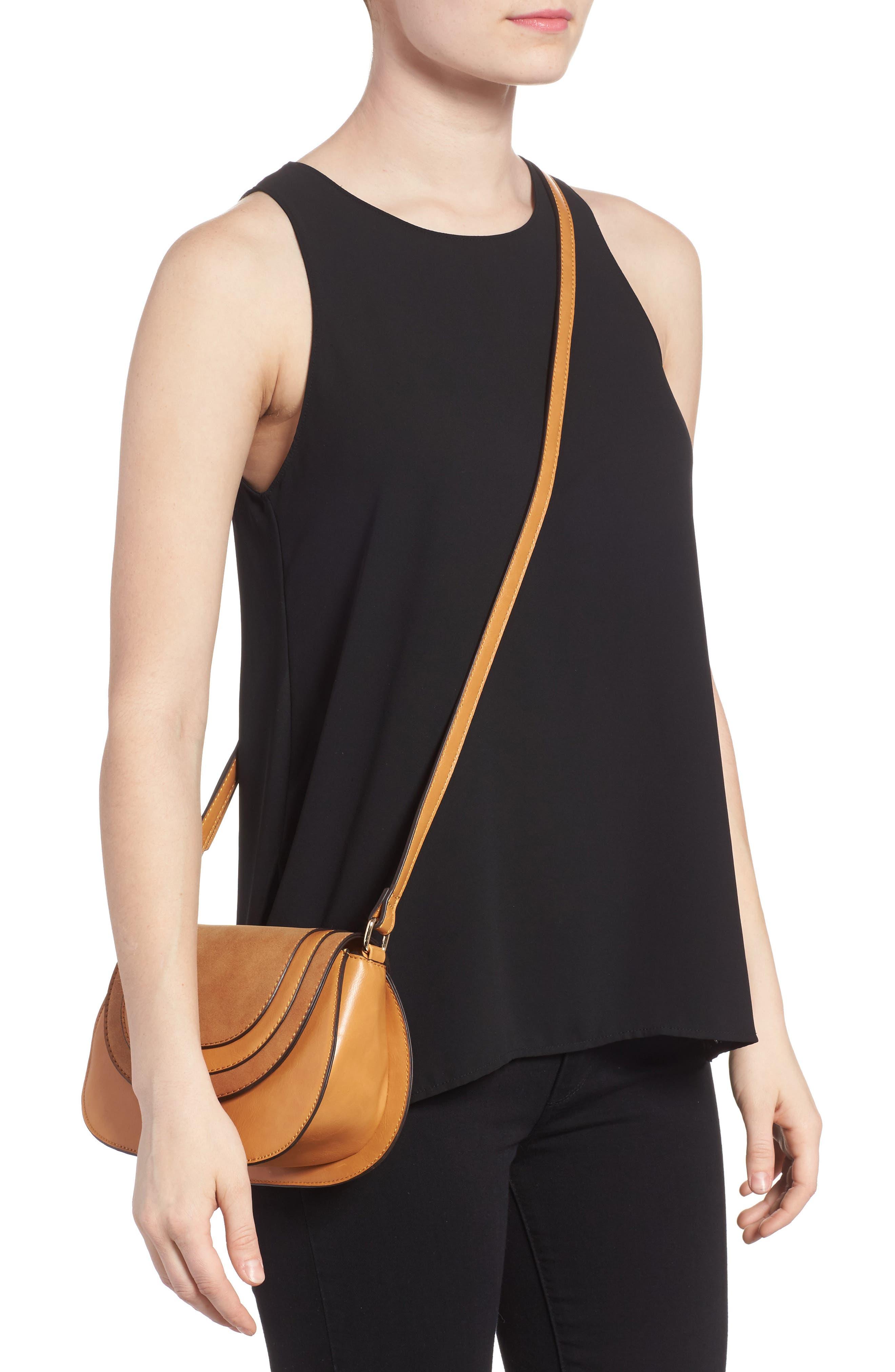 Alternate Image 2  - Sole Society Bryson Faux Leather Crossbody Bag