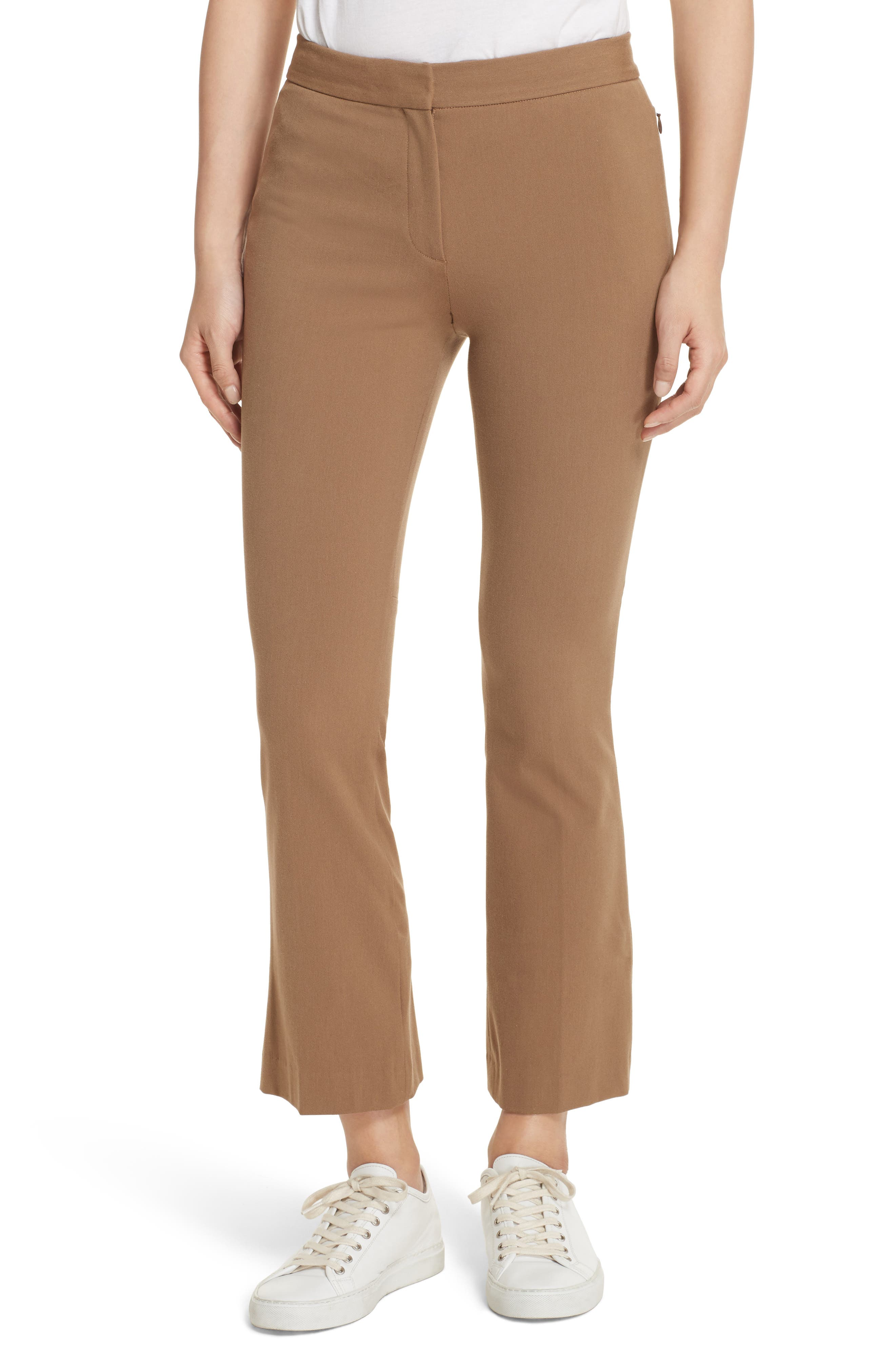 Alternate Image 1 Selected - Theory New Bistre Kick Flare Pants