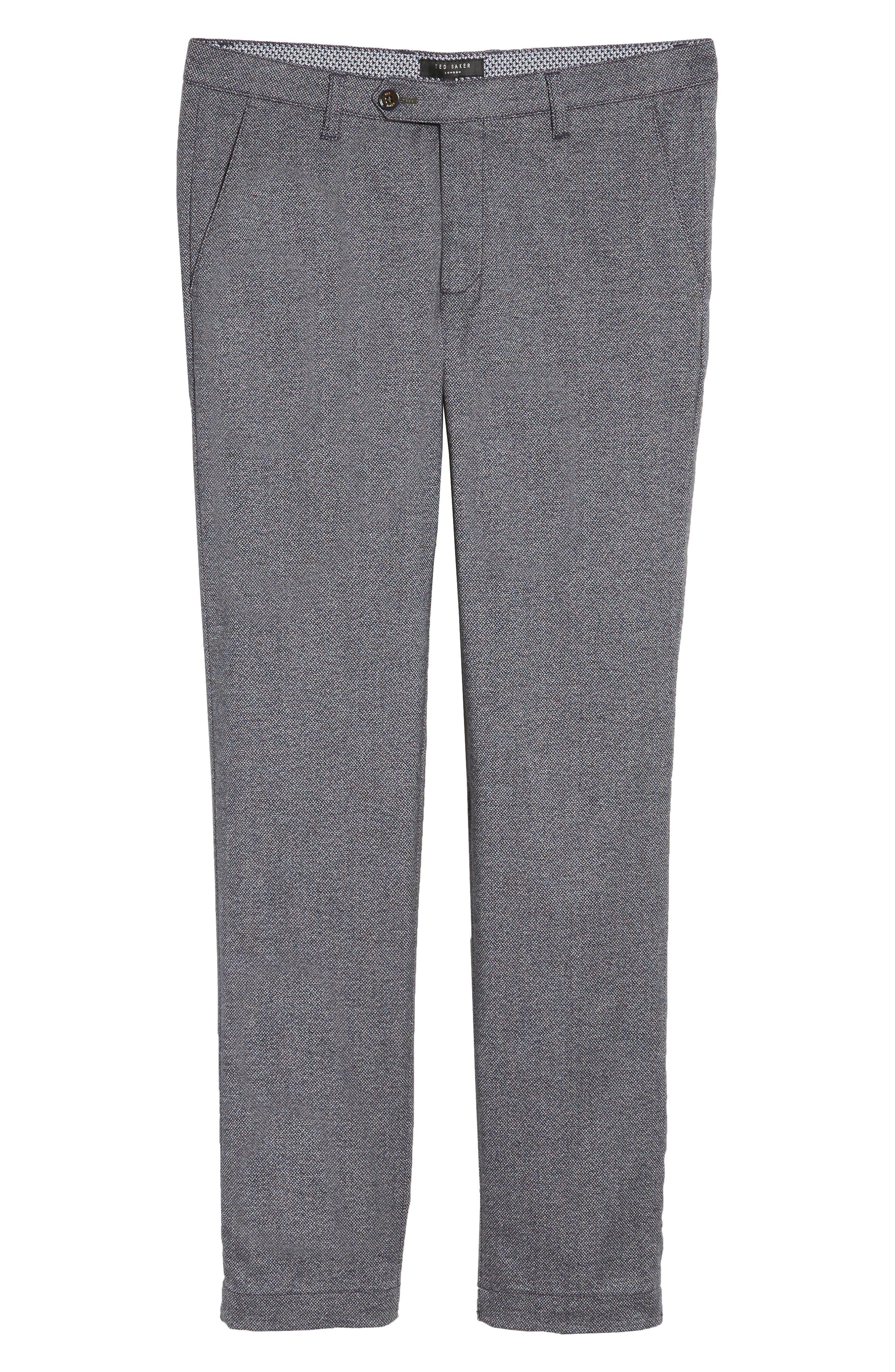 Pintz Slim Fit Trousers,                             Alternate thumbnail 6, color,                             Navy