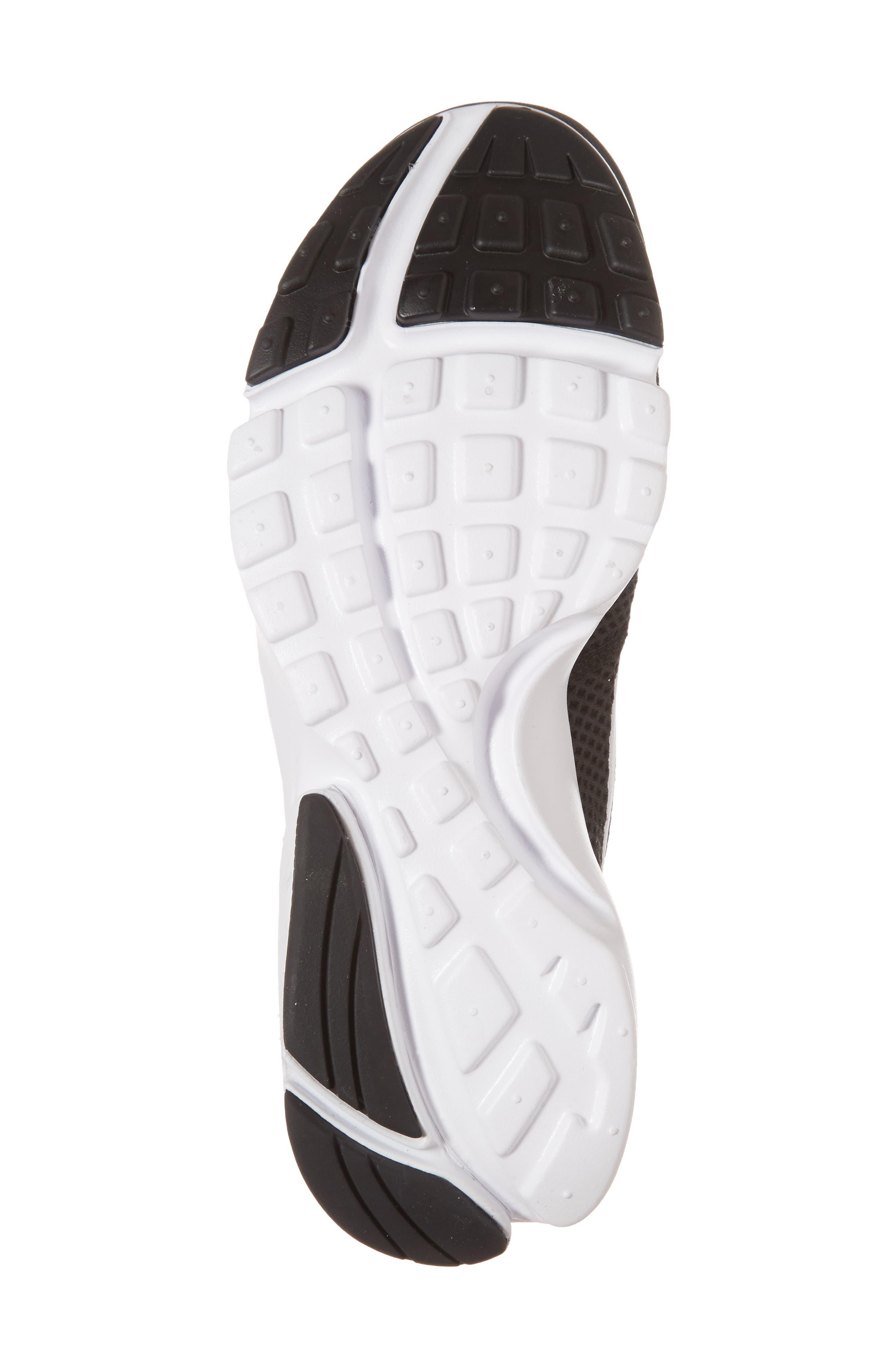 Presto Fly Sneaker,                             Alternate thumbnail 6, color,                             Black/ White/ White