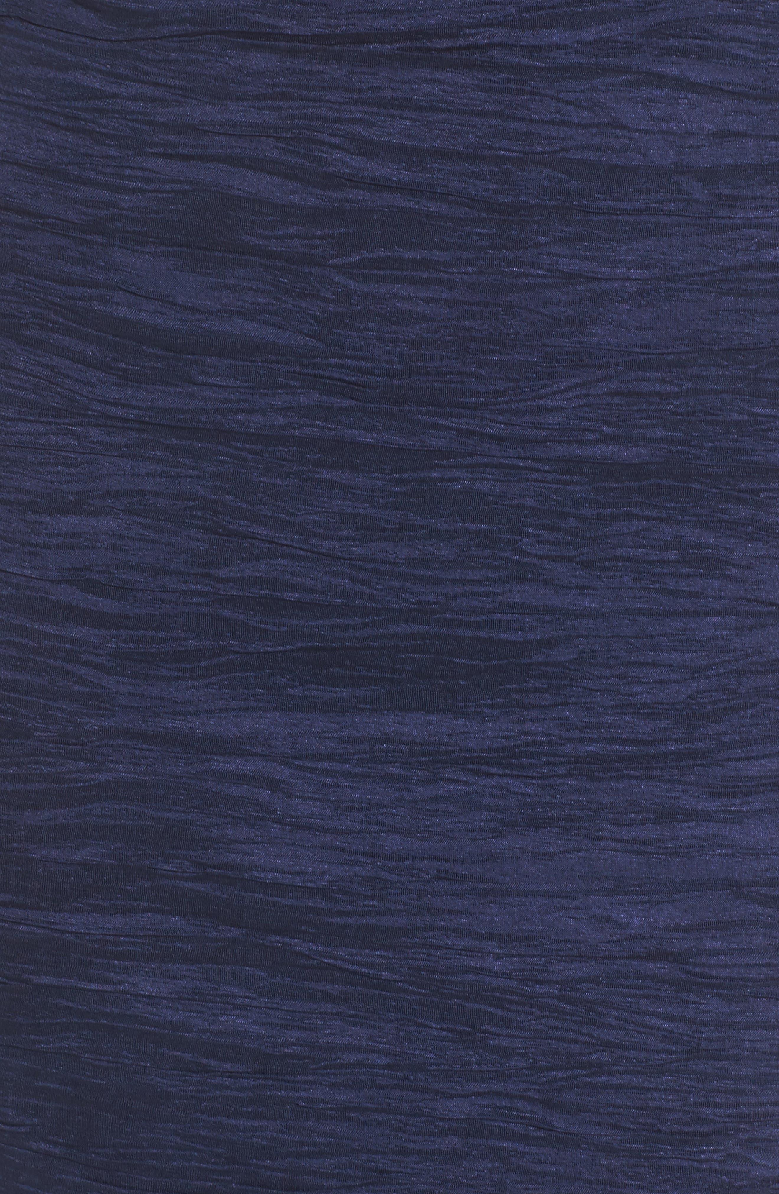Alternate Image 5  - Eliza J Embellished Cutout Taffeta Sheath Dress (Regular & Petite)