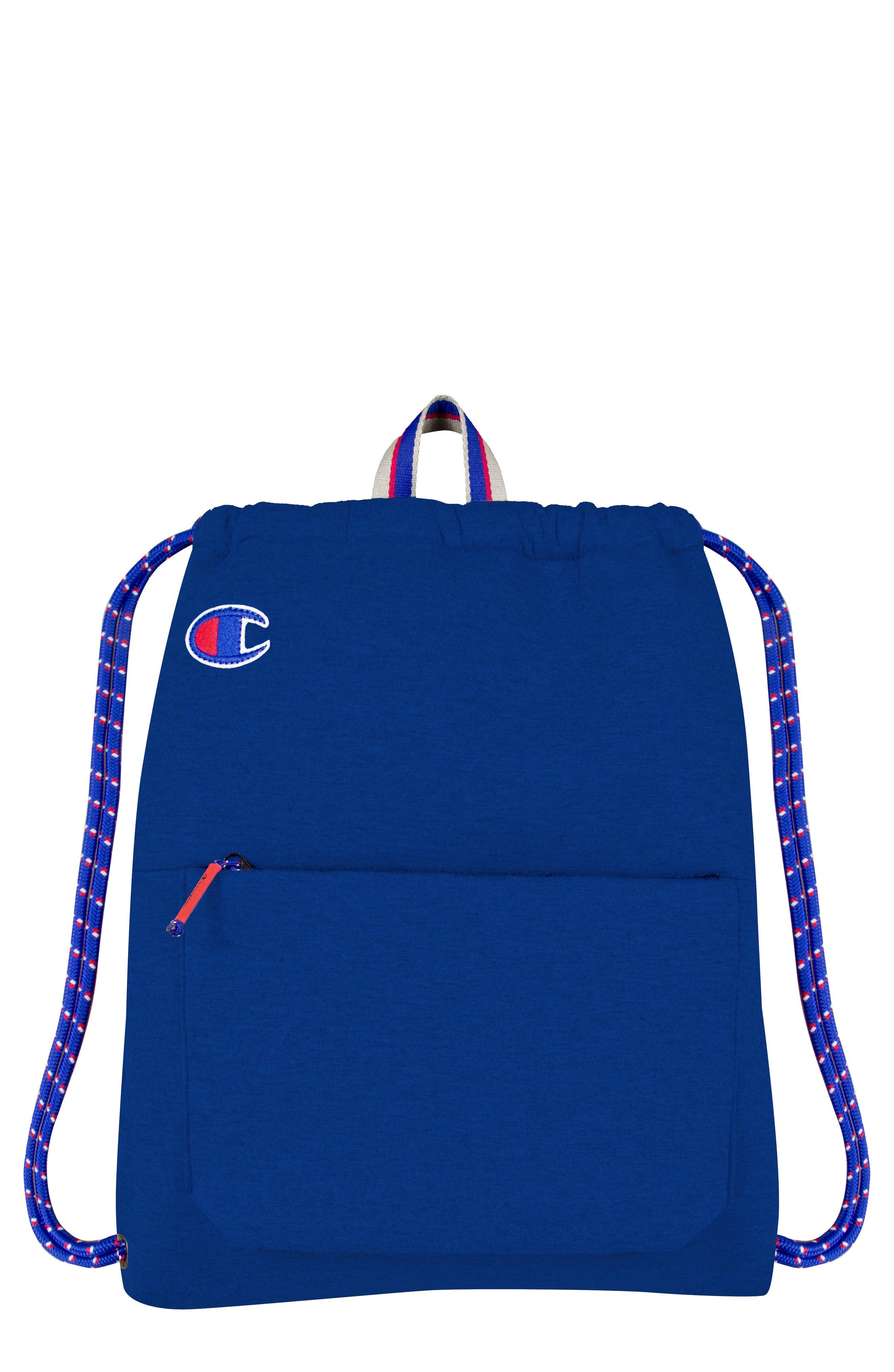Attribute Cinch Sack,                         Main,                         color, Blue