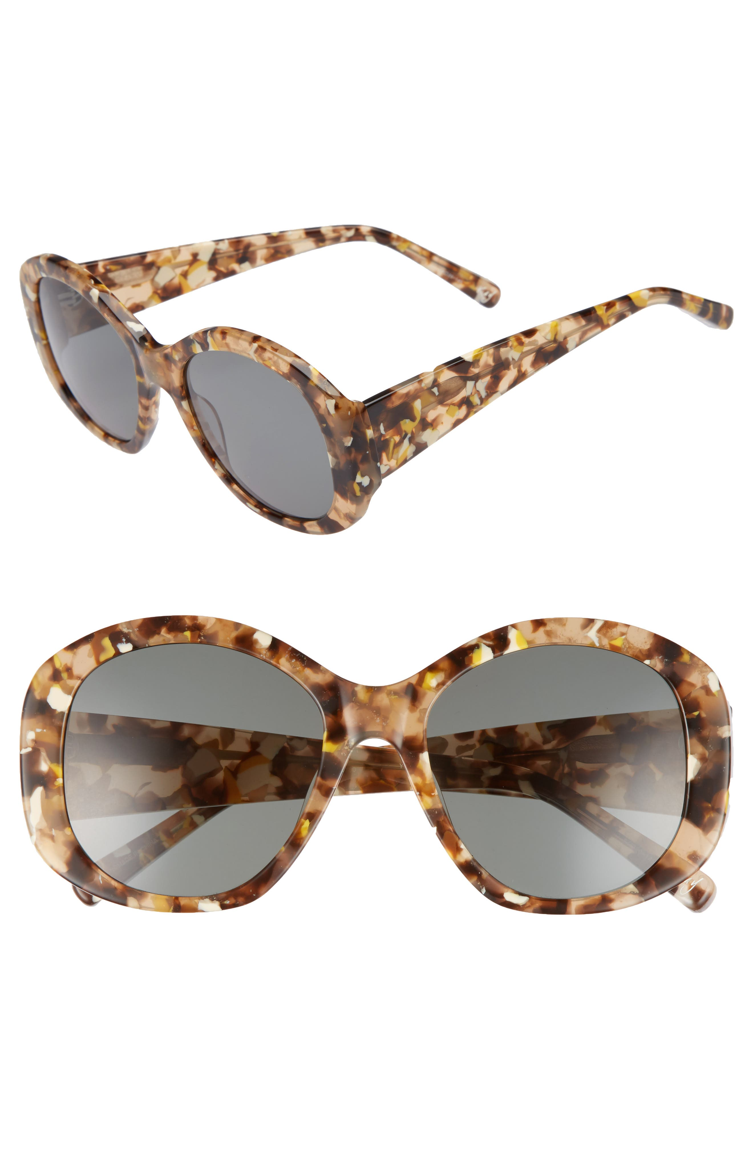 Alternate Image 1 Selected - Elizabeth and James Kay 54mm Round Sunglasses