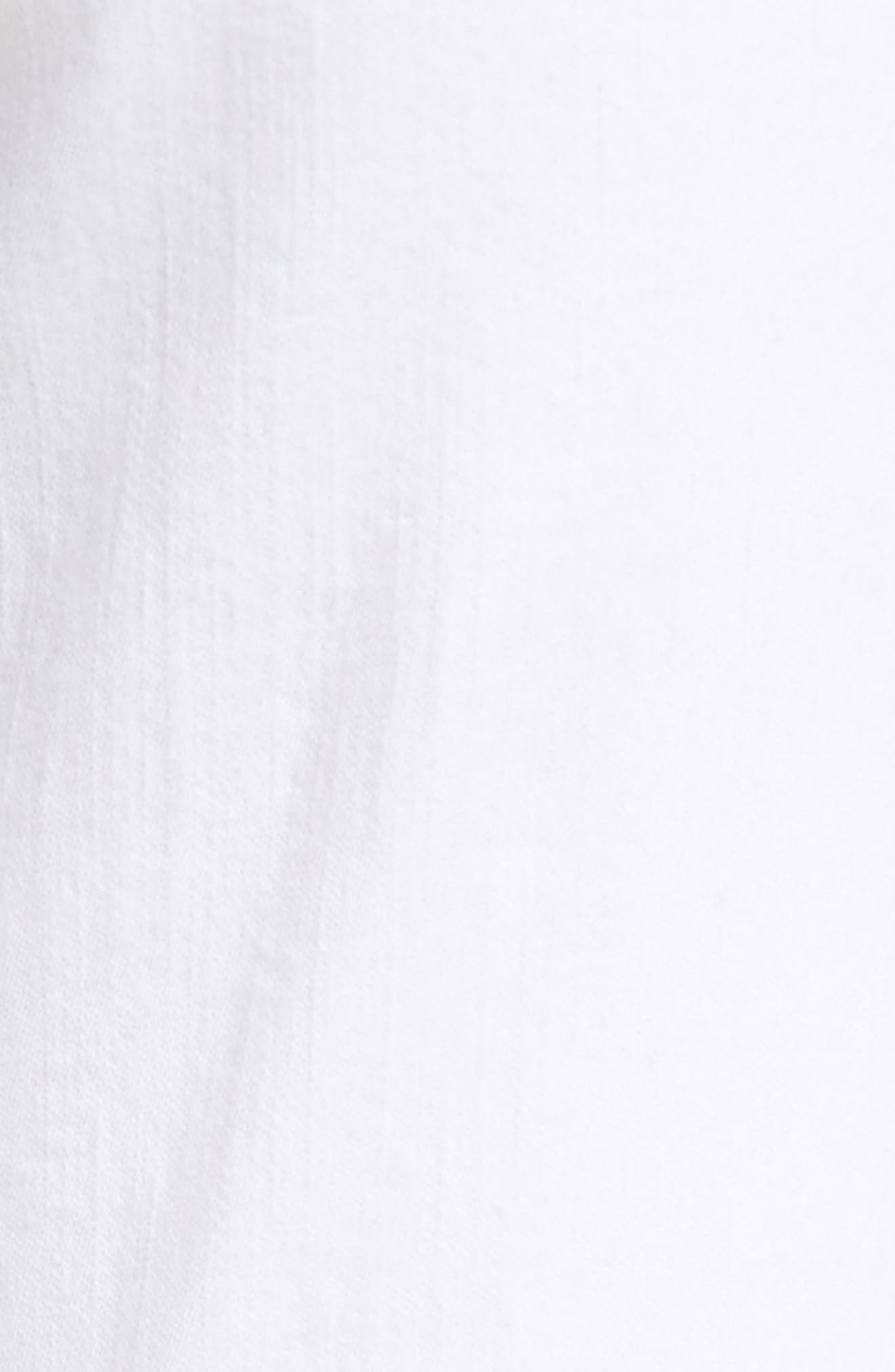 Mid-Rise Capri Skinny Jeans,                             Alternate thumbnail 6, color,                             White Mercy