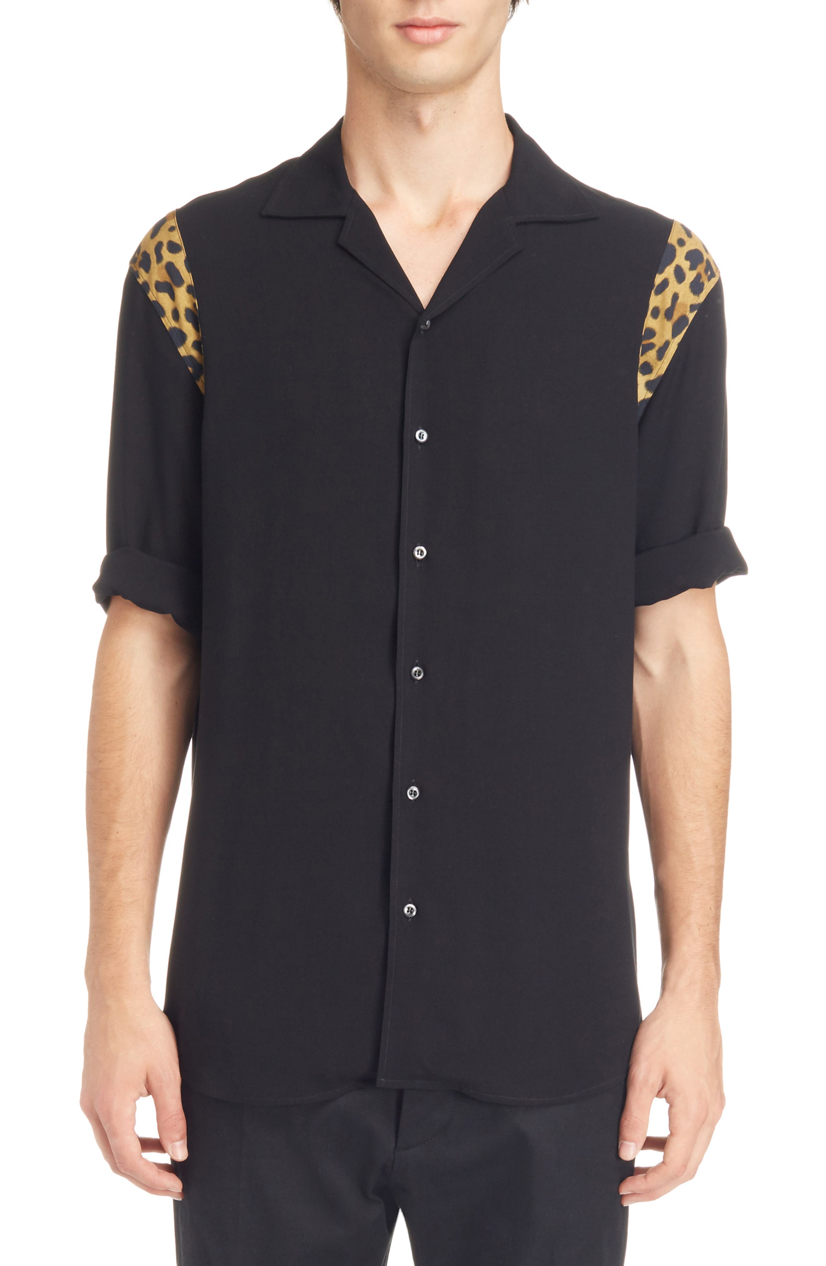 Alternate Image 1 Selected - Dsquared2 Bowling Shirt