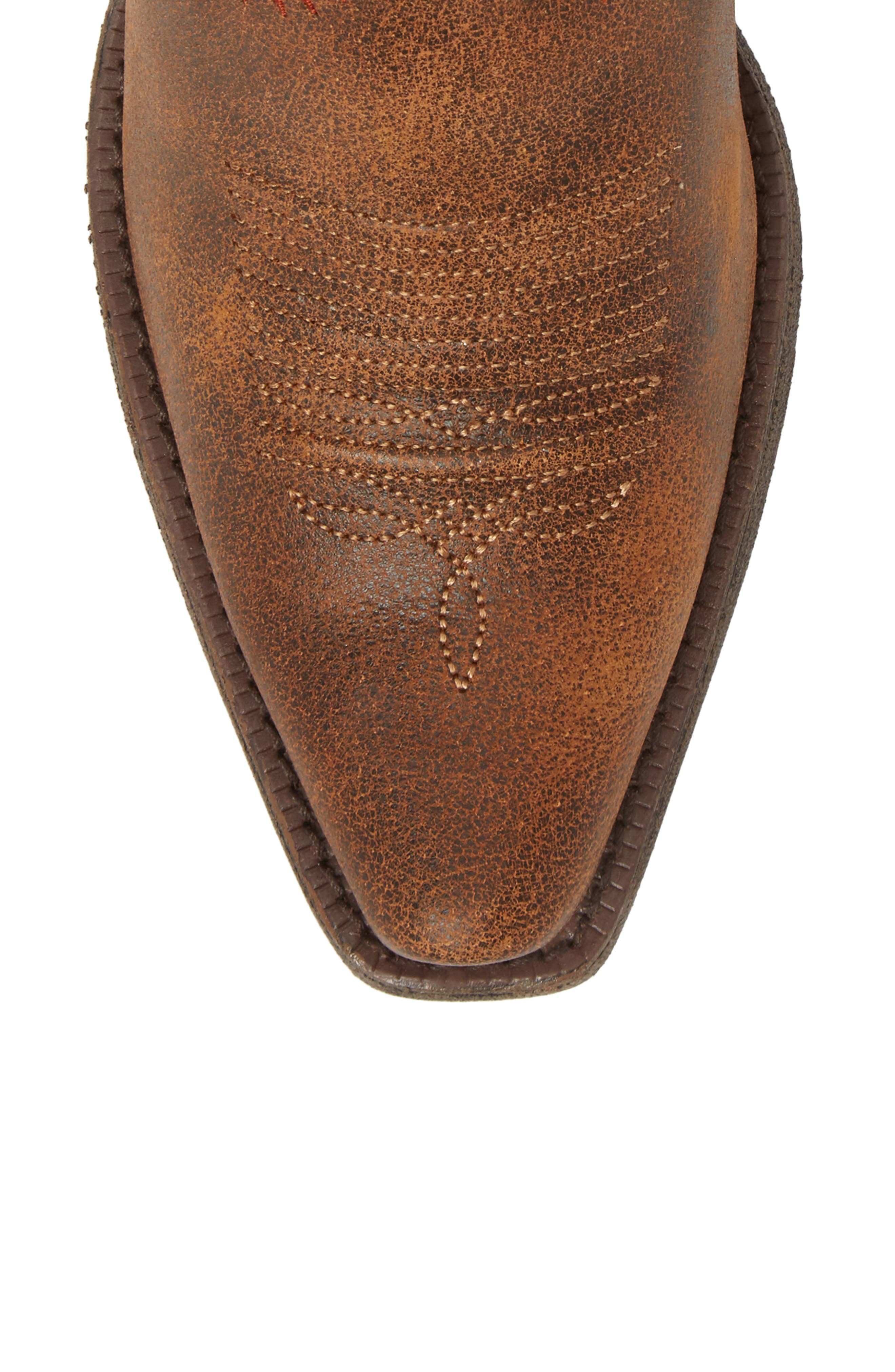 Round Up Western Boot,                             Alternate thumbnail 5, color,                             Aztec Vintage Bomber