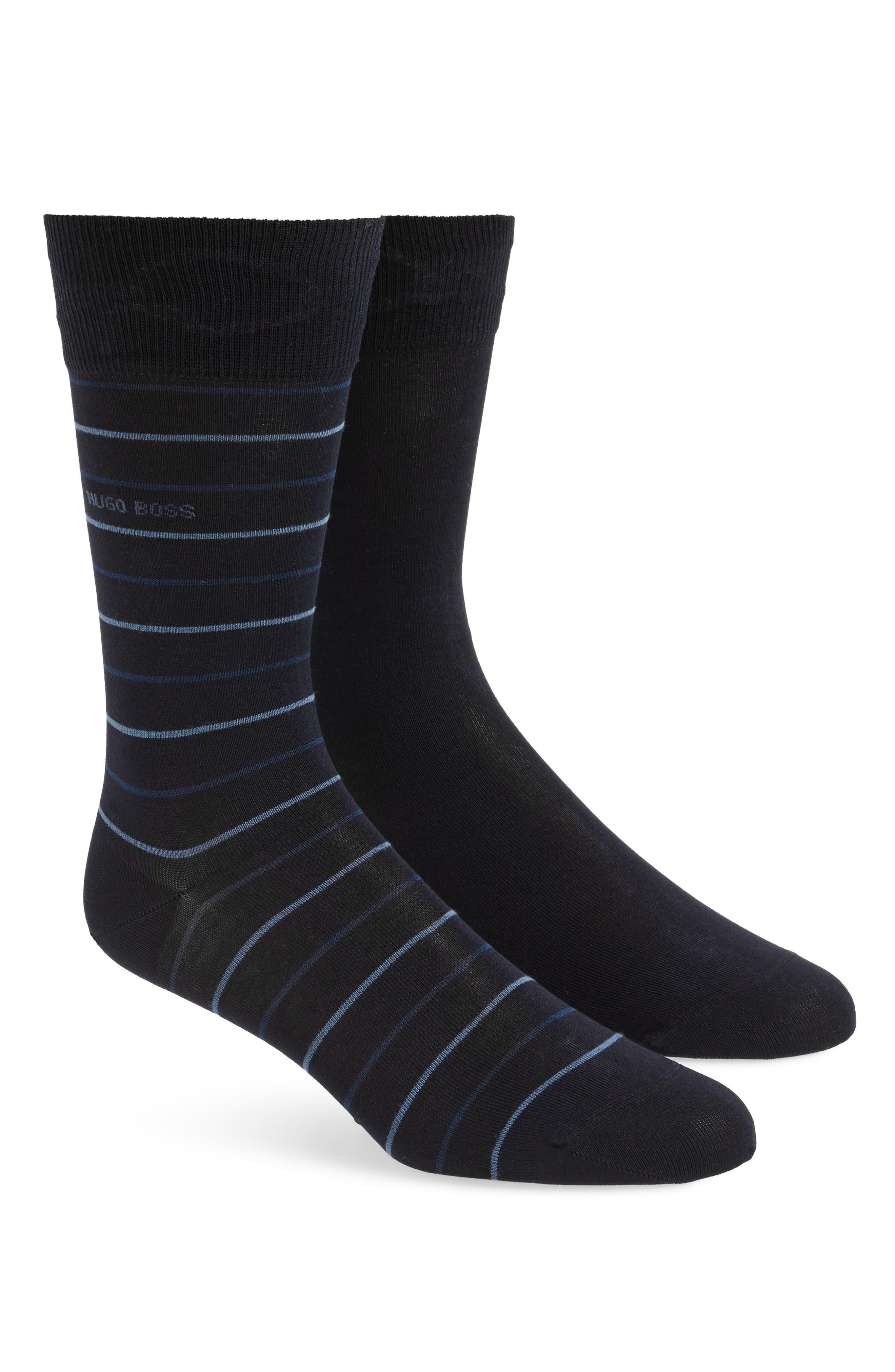 Assorted 2-Pack Socks,                         Main,                         color, Blue