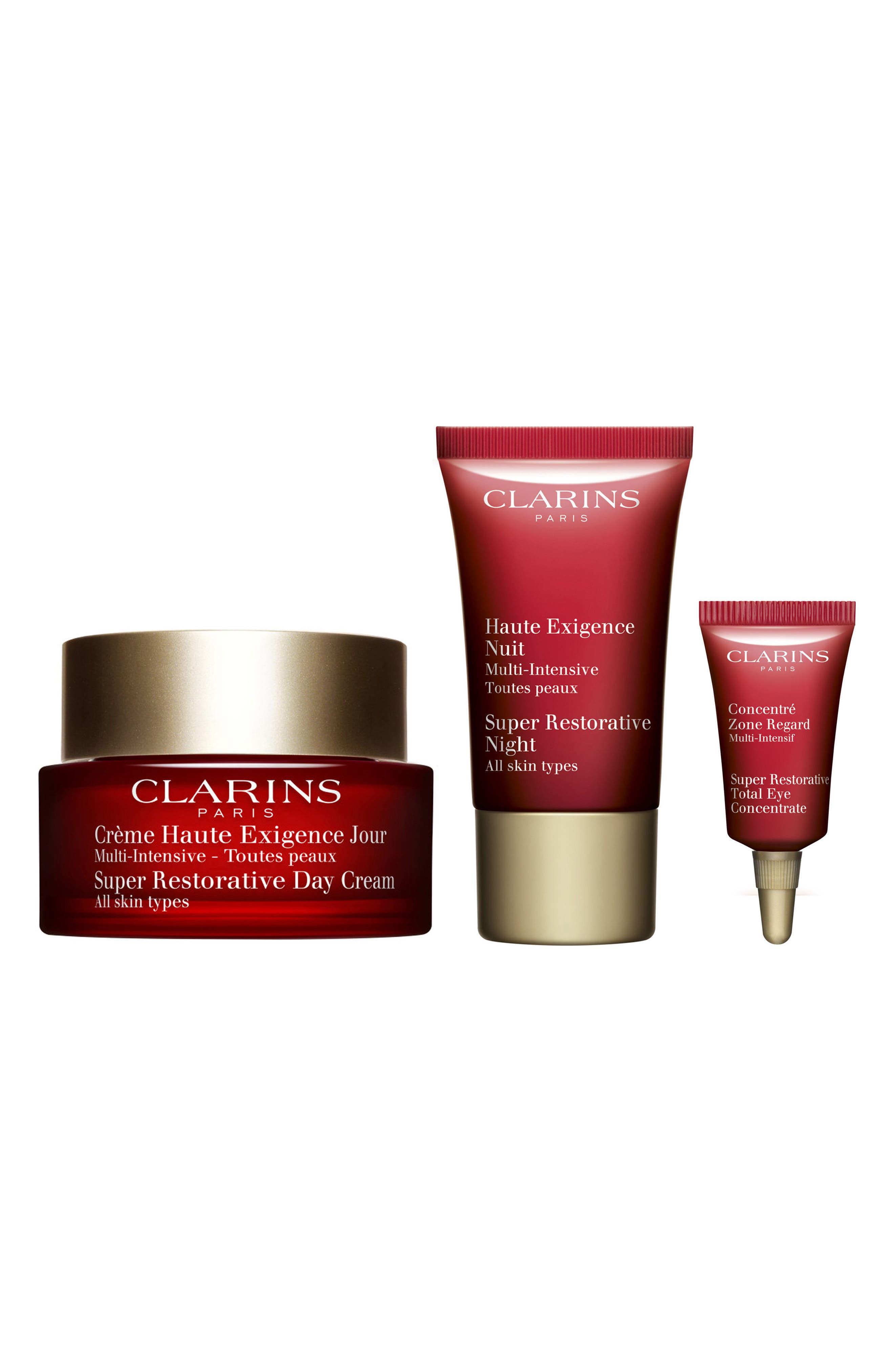 2 Pack - Clarins  Restoring Eye Wonders  1 set Clean & Clear Advantage Acne Control Facial Moisturizer, 4 Fl. Oz.