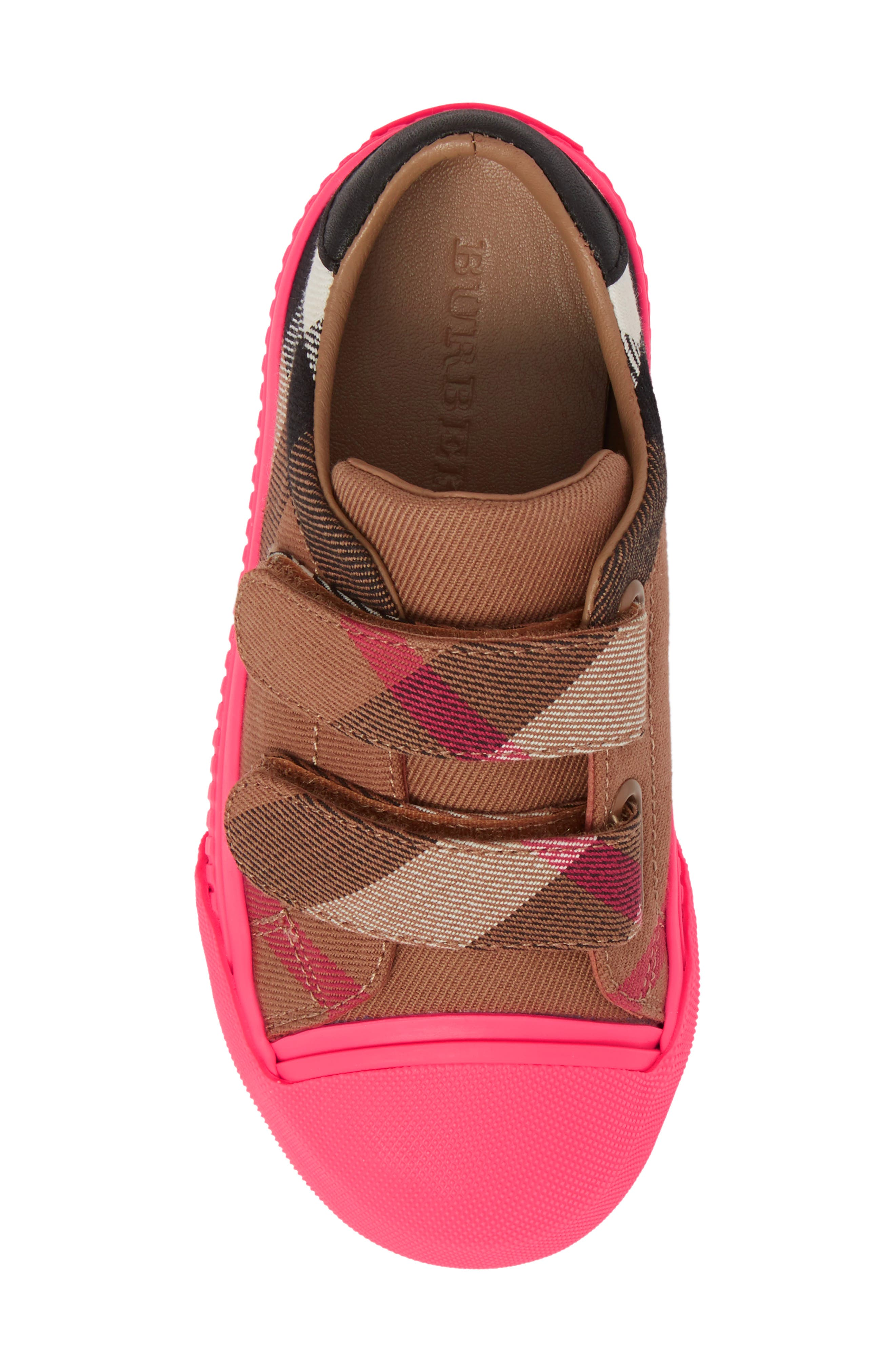 Belside Sneaker,                             Alternate thumbnail 5, color,                             Classic/ Neon Pink
