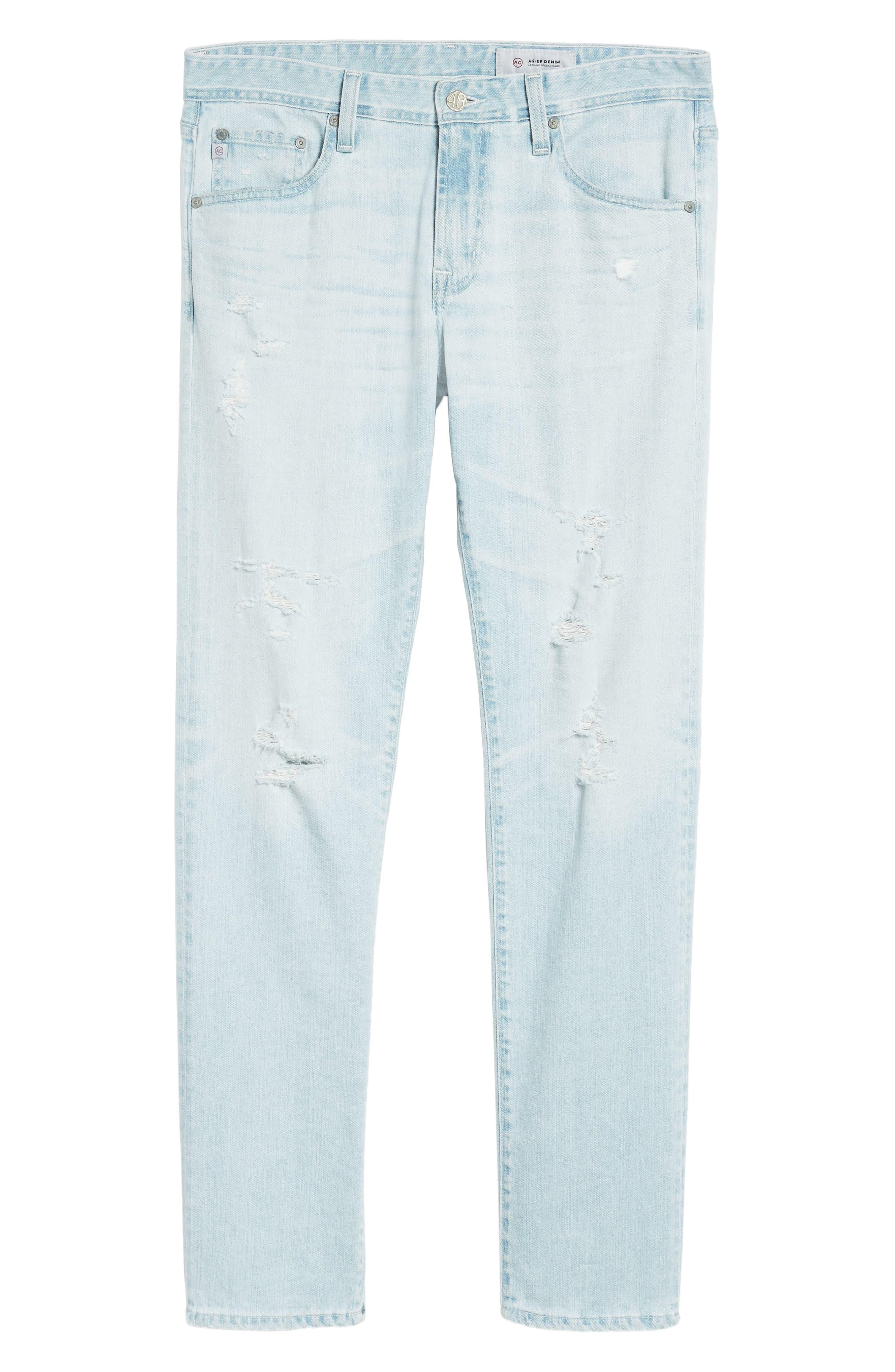 Tellis Slim Fit Jeans,                             Alternate thumbnail 6, color,                             27 Years Surfrider