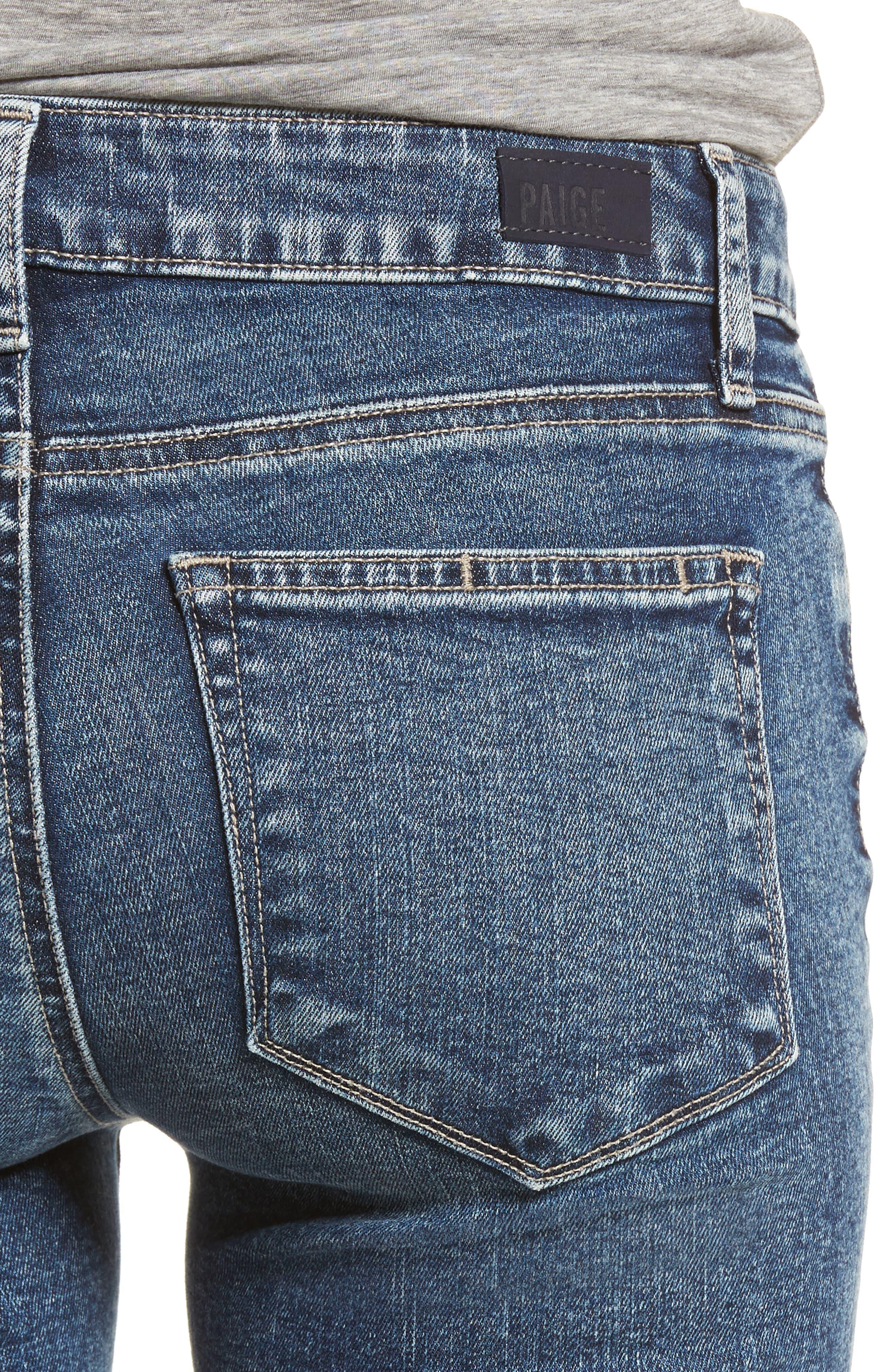 Transcend Vintage - Verdugo Ultra Skinny Jeans,                             Alternate thumbnail 4, color,                             Iness
